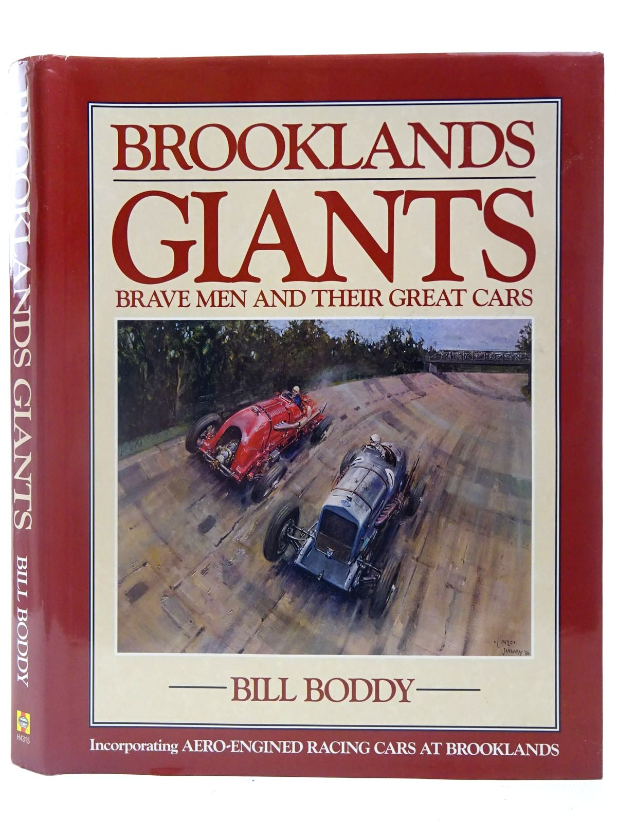 Photo of BROOKLANDS GIANTS written by Boddy, Bill published by Haynes Publishing Group (STOCK CODE: 2126894)  for sale by Stella & Rose's Books