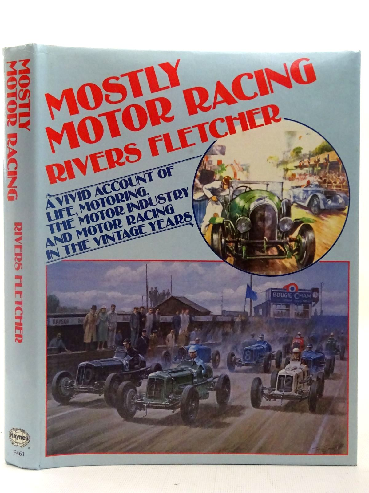 Photo of MOSTLY MOTOR RACING written by Fletcher, Rivers published by Foulis, Haynes Publishing Group (STOCK CODE: 2126896)  for sale by Stella & Rose's Books