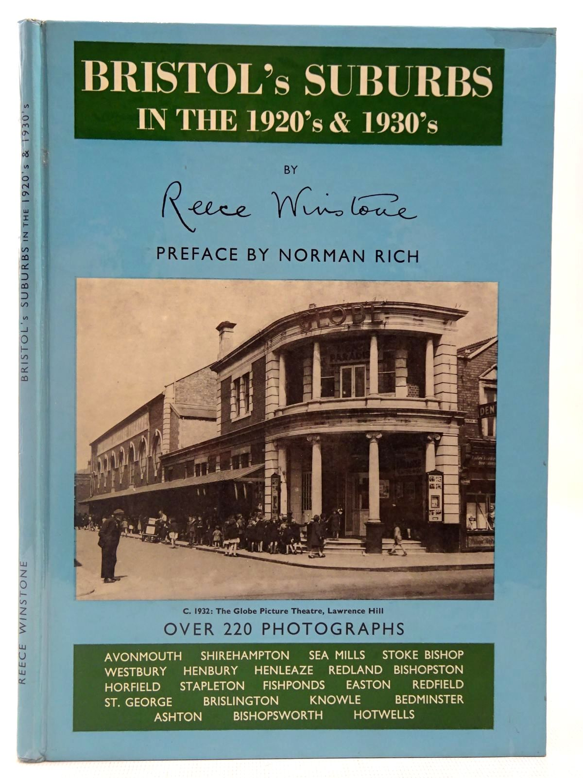 Photo of BRISTOL'S SUBURBS IN THE 1920'S & 1930'S written by Winstone, Reece published by Reece Winstone (STOCK CODE: 2126943)  for sale by Stella & Rose's Books