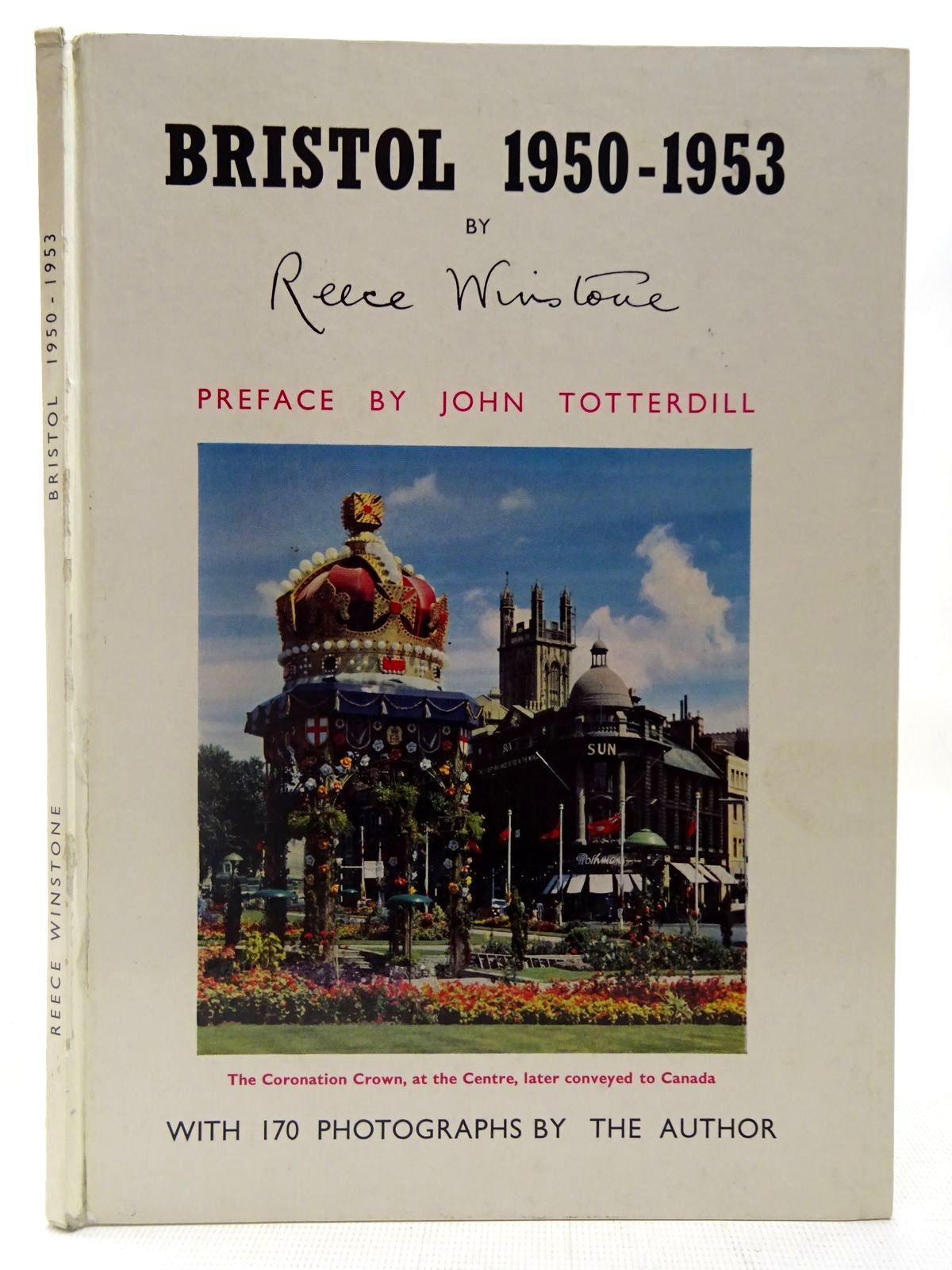 Photo of BRISTOL 1950-1953 written by Winstone, Reece published by Reece Winstone (STOCK CODE: 2126974)  for sale by Stella & Rose's Books