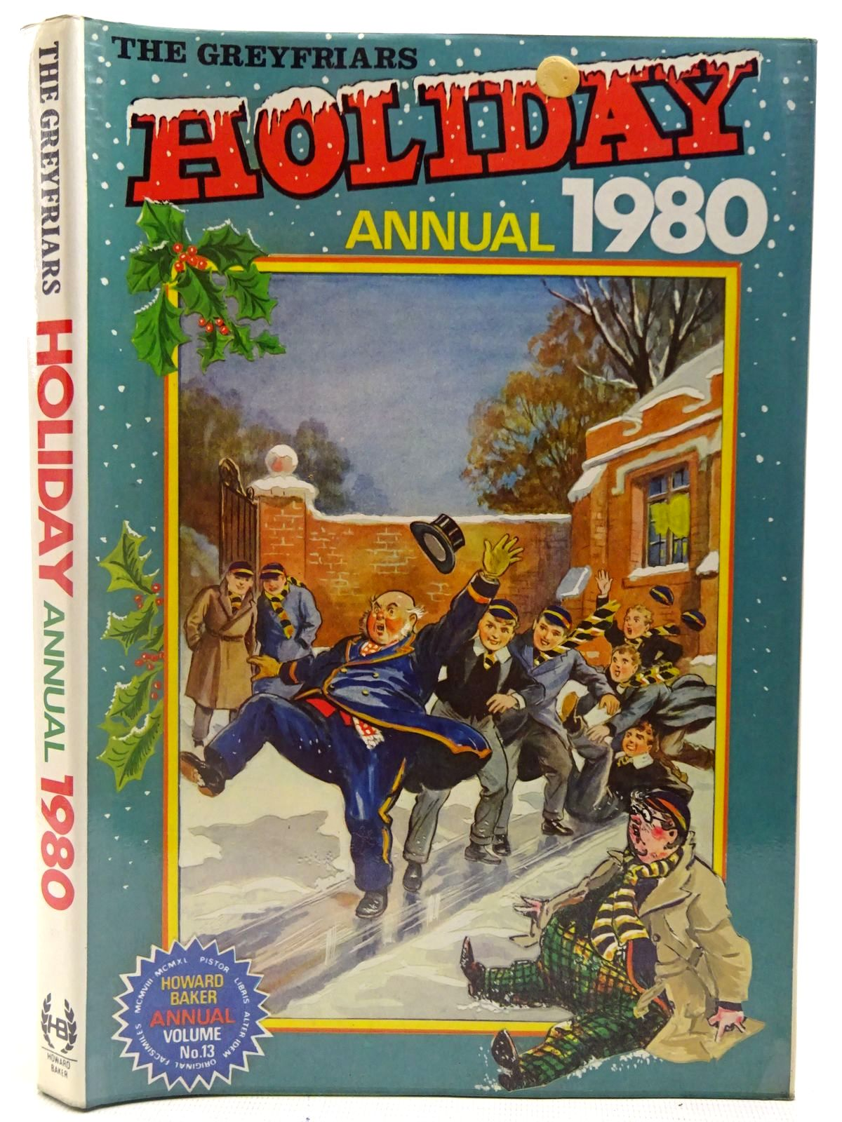 Photo of THE GREYFRIARS HOLIDAY ANNUAL 1980- Stock Number: 2126983