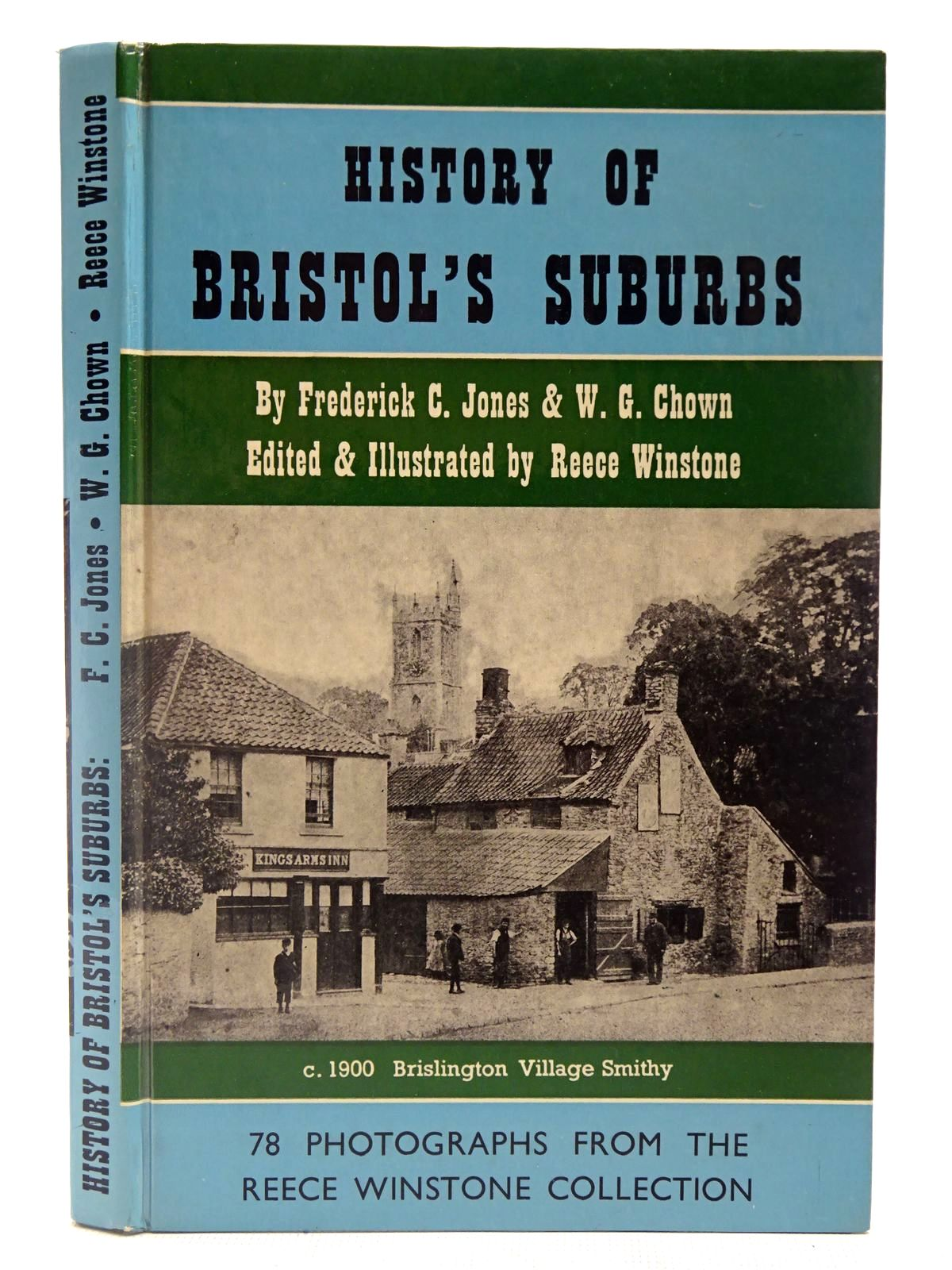 Photo of HISTORY OF BRISTOL'S SUBURBS written by Jones, Frederick C. Chown, W.G. Winstone, Reece published by Reece Winstone (STOCK CODE: 2127025)  for sale by Stella & Rose's Books