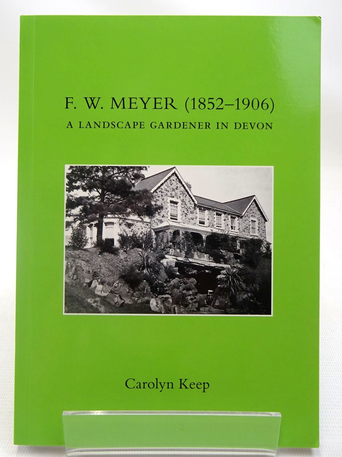 Photo of F.W. MEYER (1852-1906) A LANDSCAPE GARDENER IN DEVON- Stock Number: 2127059