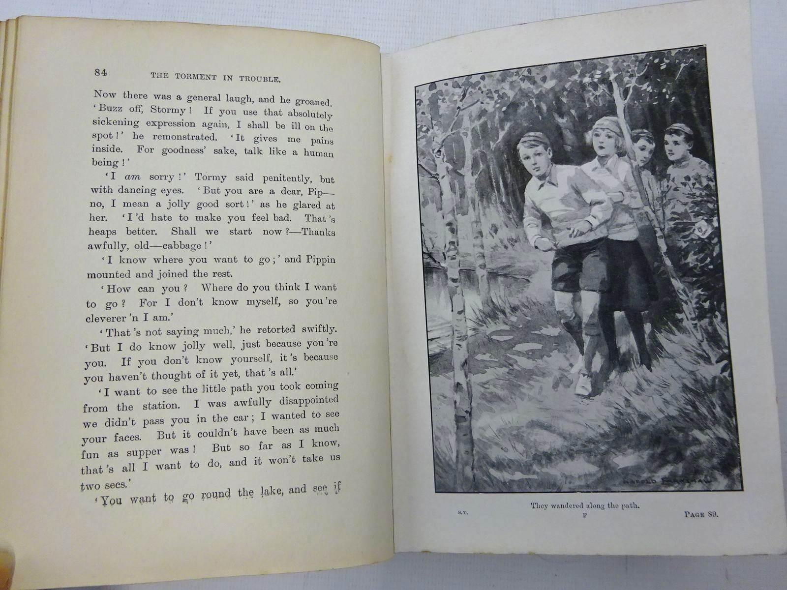 Photo of THE SCHOOL TORMENT written by Oxenham, Elsie J. illustrated by Earnshaw, Harold C. published by Chambers (STOCK CODE: 2127169)  for sale by Stella & Rose's Books