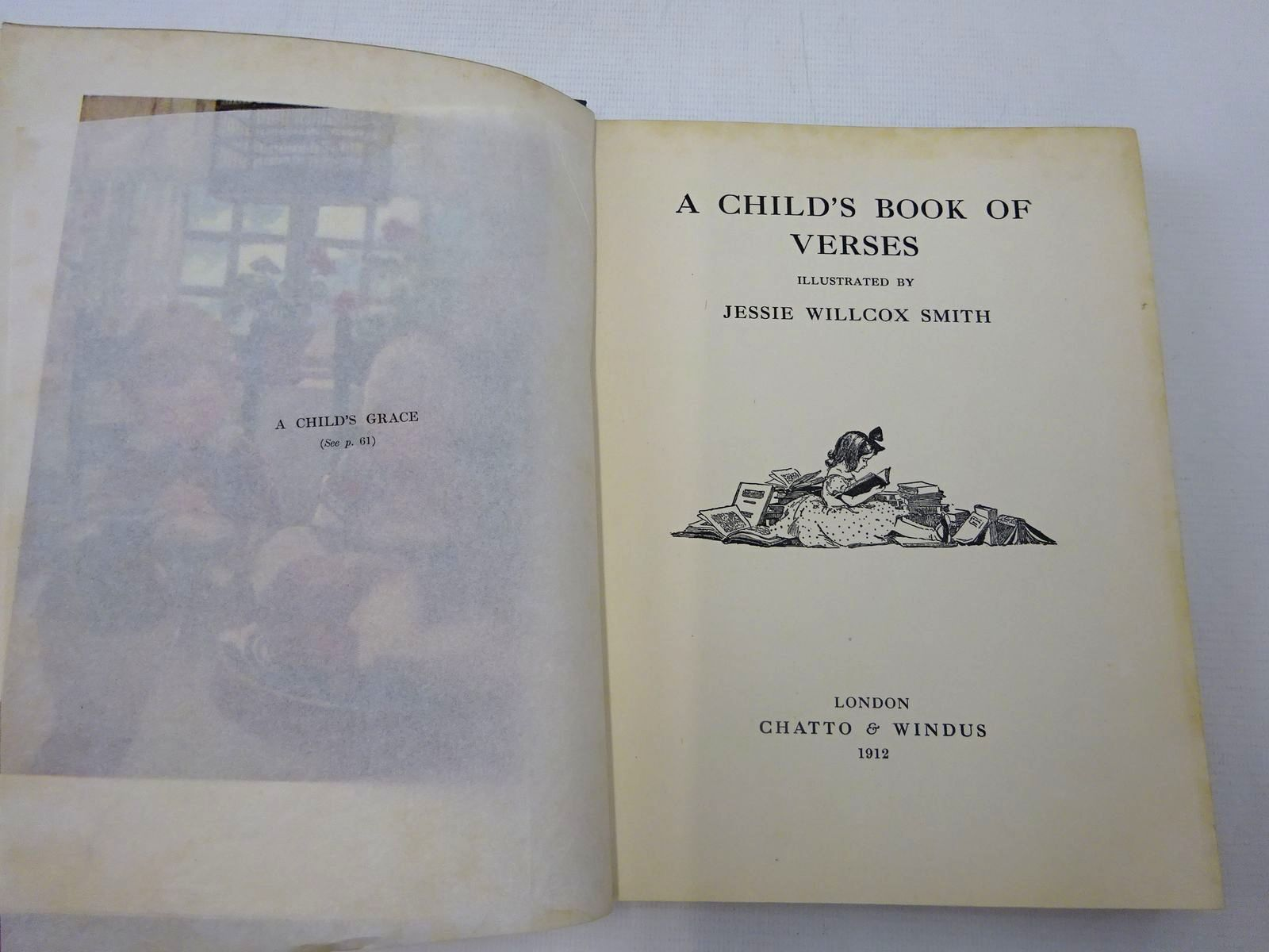 Photo of A CHILD'S BOOK OF VERSES illustrated by Smith, Jessie Willcox published by Chatto & Windus (STOCK CODE: 2127171)  for sale by Stella & Rose's Books