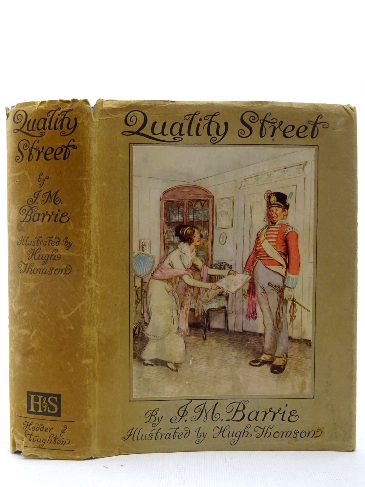 Photo of QUALITY STREET written by Barrie, J.M. illustrated by Thomson, Hugh published by Hodder & Stoughton (STOCK CODE: 2127180)  for sale by Stella & Rose's Books