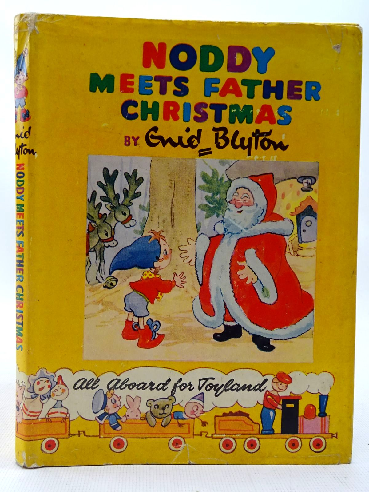 Photo of NODDY MEETS FATHER CHRISTMAS written by Blyton, Enid illustrated by Brooks, Mary published by Sampson Low, Marston & Co. Ltd., C.A. Publications Ltd. (STOCK CODE: 2127191)  for sale by Stella & Rose's Books