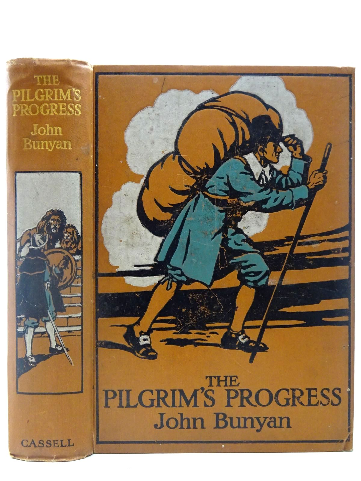 Photo of THE PILGRIM'S PROGRESS written by Bunyan, John illustrated by Clark, James published by Cassell & Company Ltd (STOCK CODE: 2127194)  for sale by Stella & Rose's Books