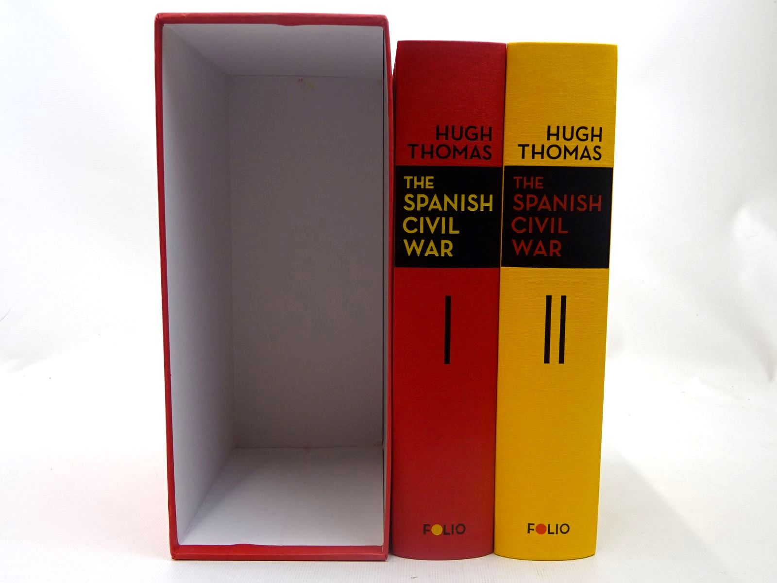 Photo of THE SPANISH CIVIL WAR (2 VOLUMES) written by Thomas, Hugh published by Folio Society (STOCK CODE: 2127203)  for sale by Stella & Rose's Books