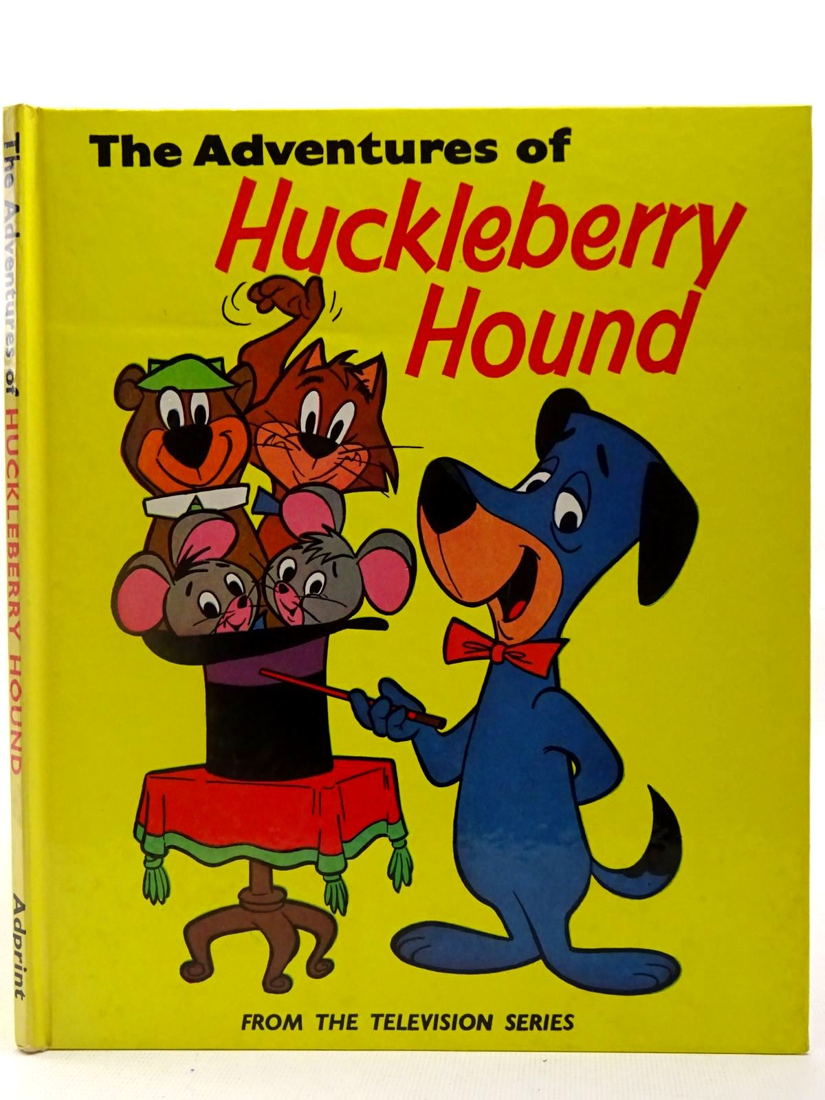 Photo of THE ADVENTURES OF HUCKLEBERRY HOUND written by Mcgovern, Ann illustrated by Eisenberg, Harvey