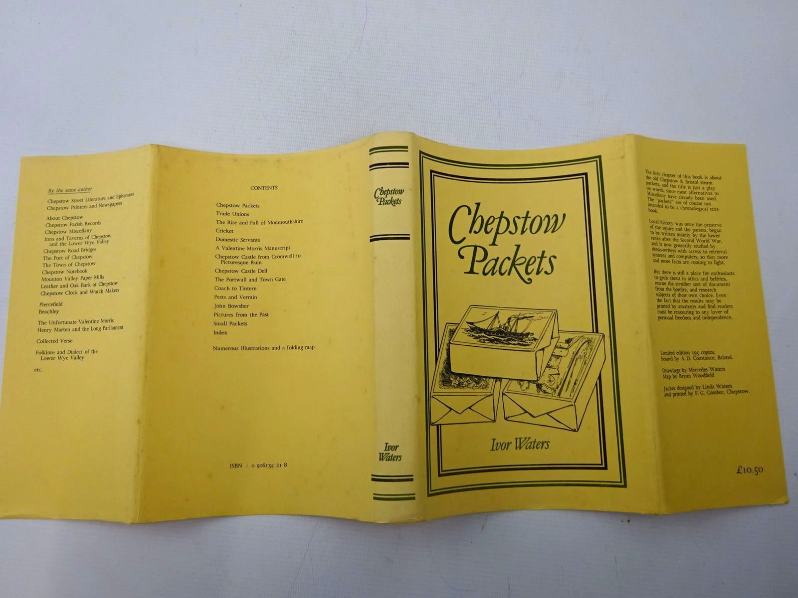 Photo of CHEPSTOW PACKETS written by Waters, Ivor illustrated by Waters, Mercedes<br />Woodfield, Bryan published by Moss Rose Press (STOCK CODE: 2127228)  for sale by Stella & Rose's Books