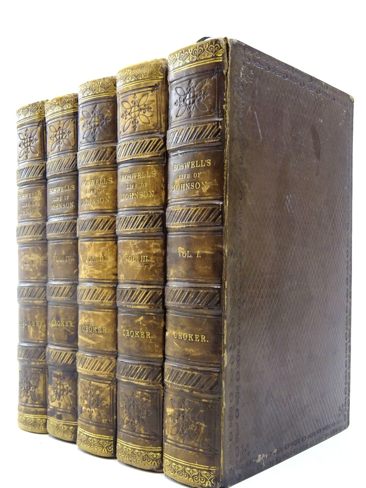 Photo of THE LIFE OF SAMUEL JOHNSON, LL. D. (5 VOLUMES)- Stock Number: 2127234