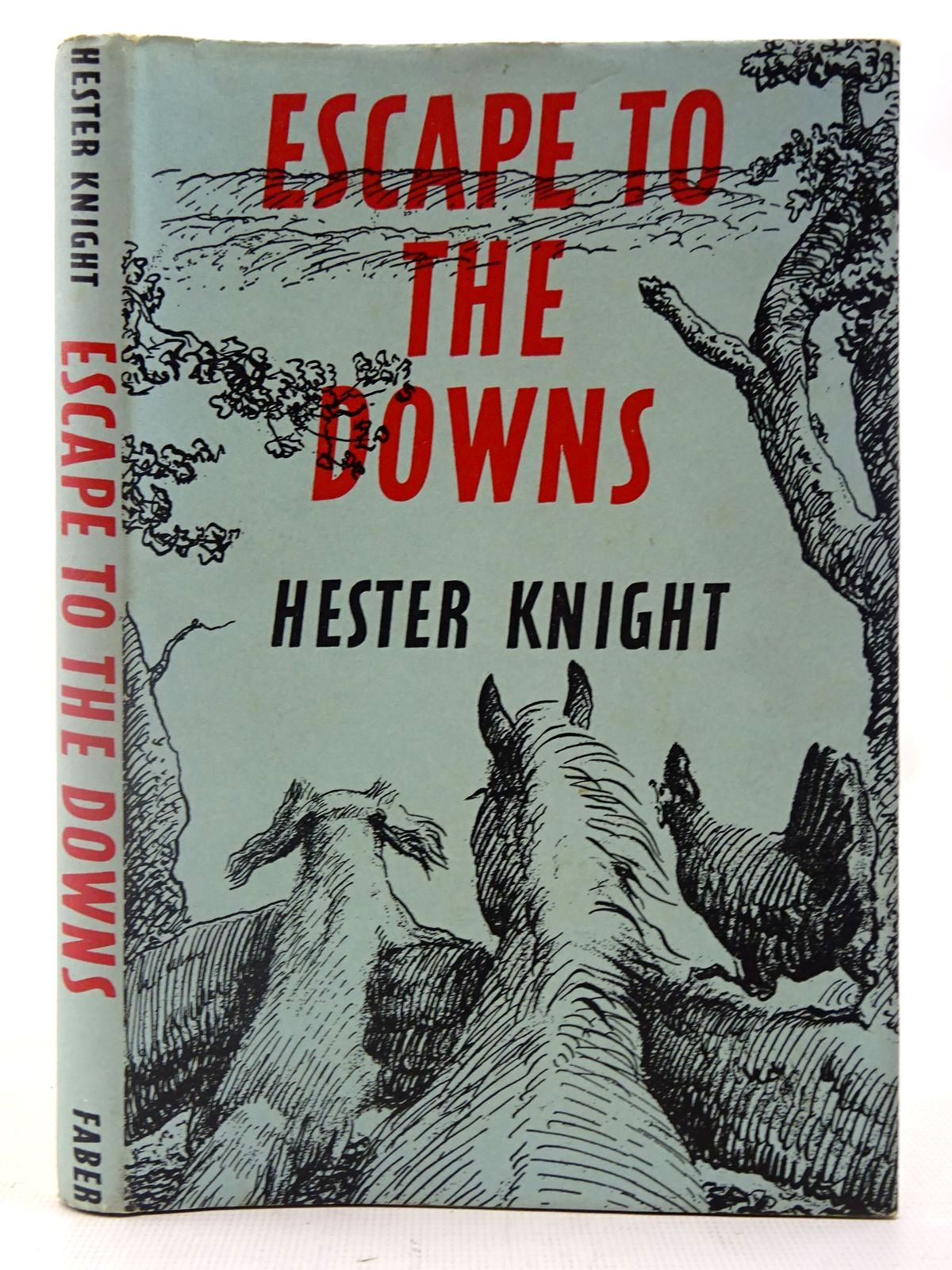 Photo of ESCAPE TO THE DOWNS written by Knight, Hester illustrated by Millais, Raoul published by Faber & Faber (STOCK CODE: 2127238)  for sale by Stella & Rose's Books