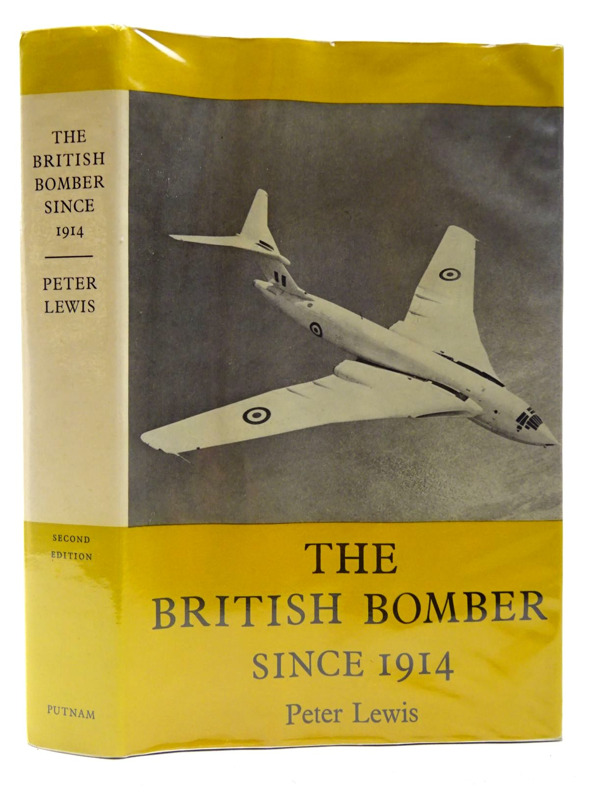 Photo of THE BRITISH BOMBER SINCE 1914 written by Lewis, Peter published by Putnam (STOCK CODE: 2127258)  for sale by Stella & Rose's Books