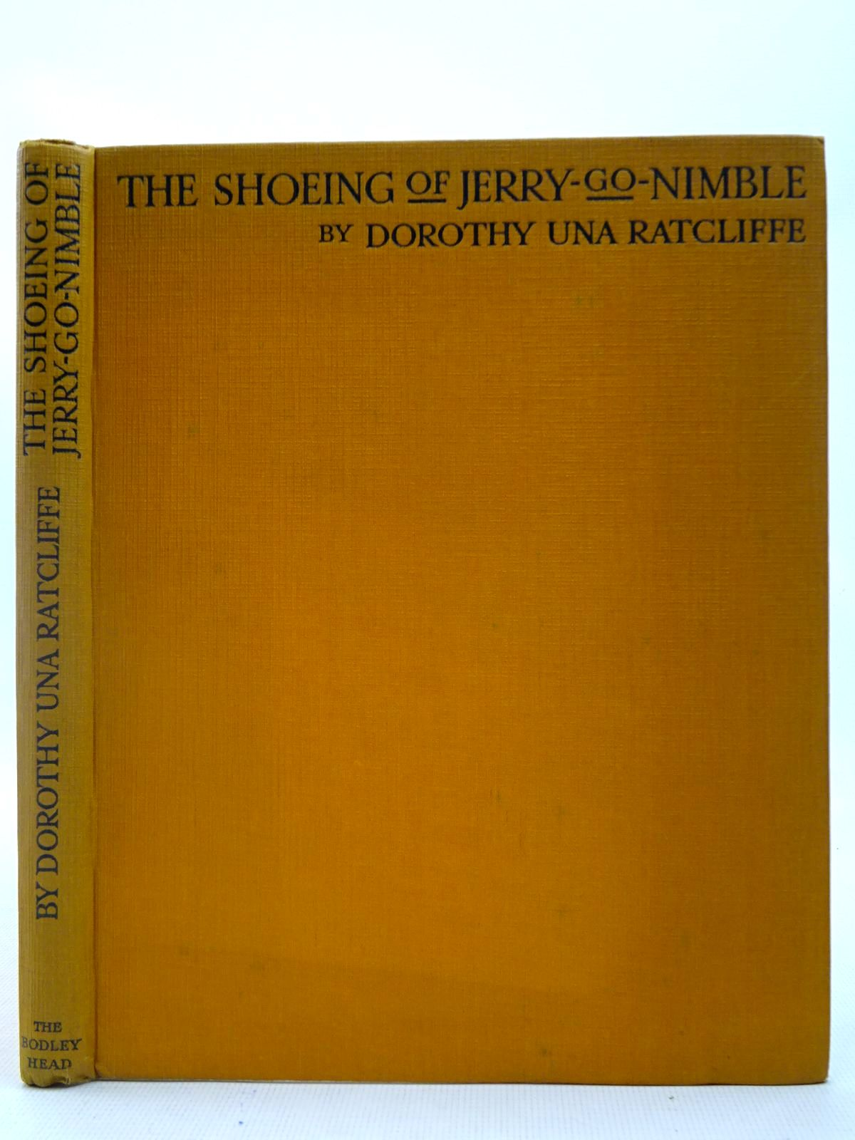 Photo of THE SHOEING OF JERRY-GO-NIMBLE AND OTHER DIALECT POEMS written by Ratcliffe, Dorothy Una et al, illustrated by Lawson, Fred published by John Lane The Bodley Head (STOCK CODE: 2127301)  for sale by Stella & Rose's Books