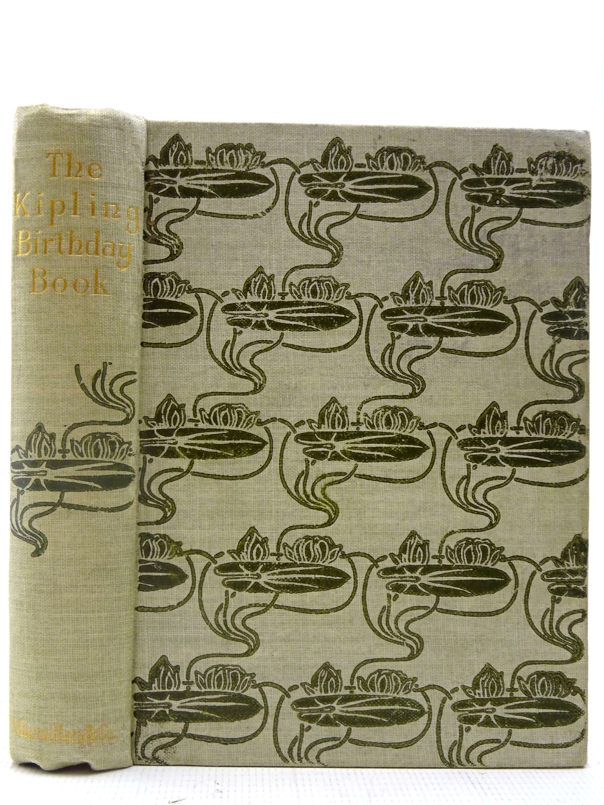 Photo of THE KIPLING BIRTHDAY BOOK written by Kipling, Rudyard