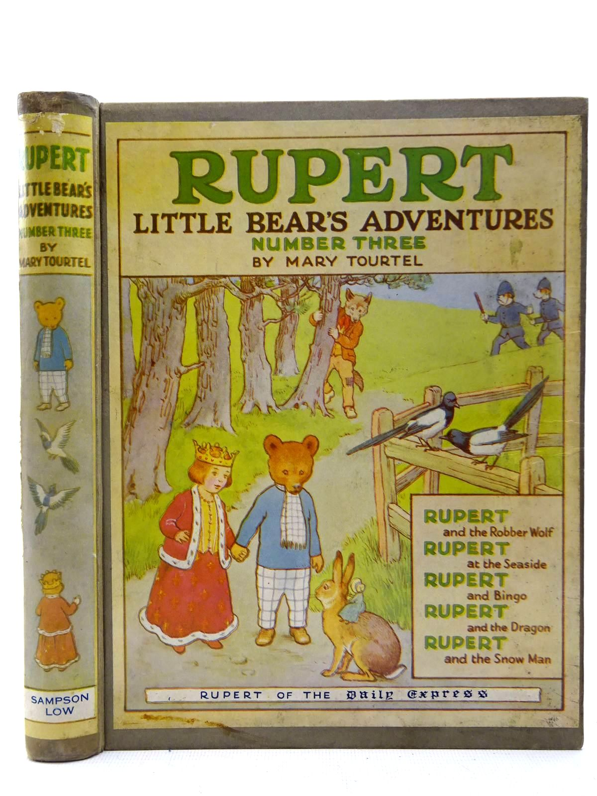 Photo of RUPERT LITTLE BEAR'S ADVENTURES NUMBER THREE- Stock Number: 2127322