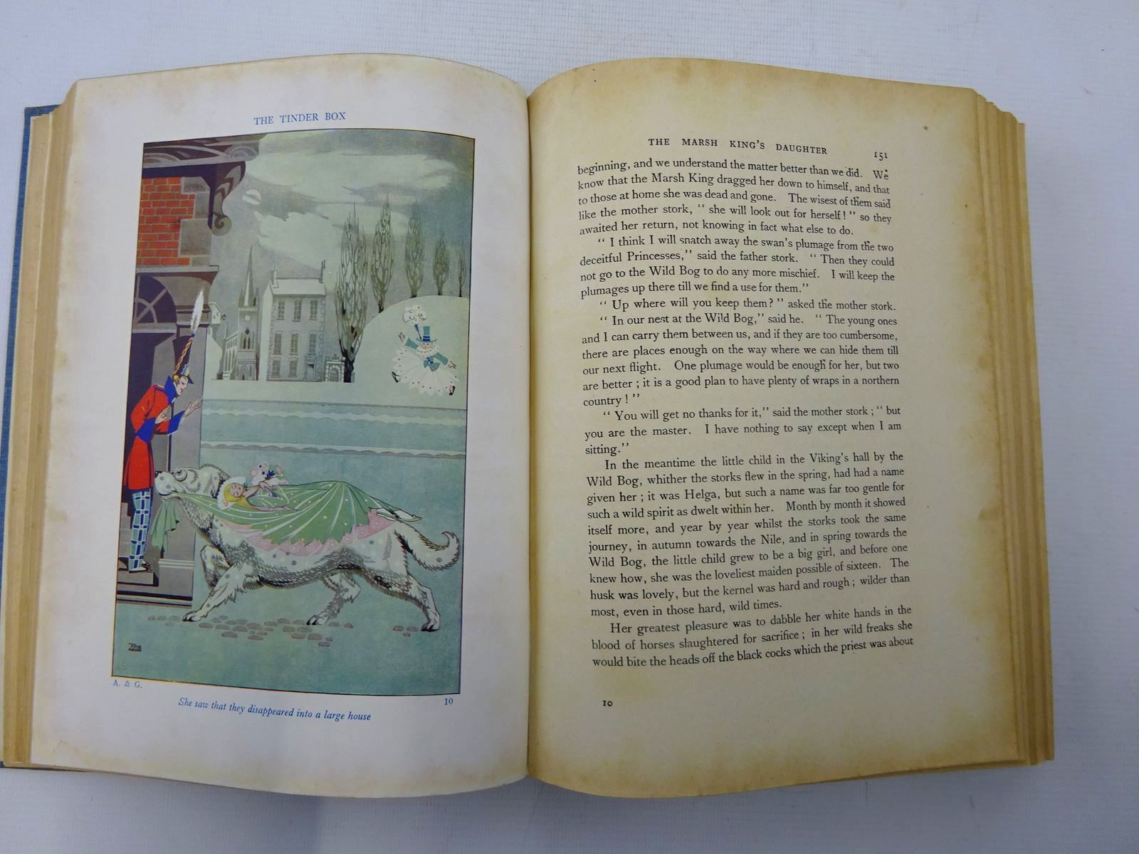 Photo of THE JOYCE MERCER EDITION OF ANDERSEN AND GRIMM written by Andersen, Hans Christian Grimm, Brothers illustrated by Mercer, Joyce published by Hutchinson & Co. Ltd (STOCK CODE: 2127323)  for sale by Stella & Rose's Books