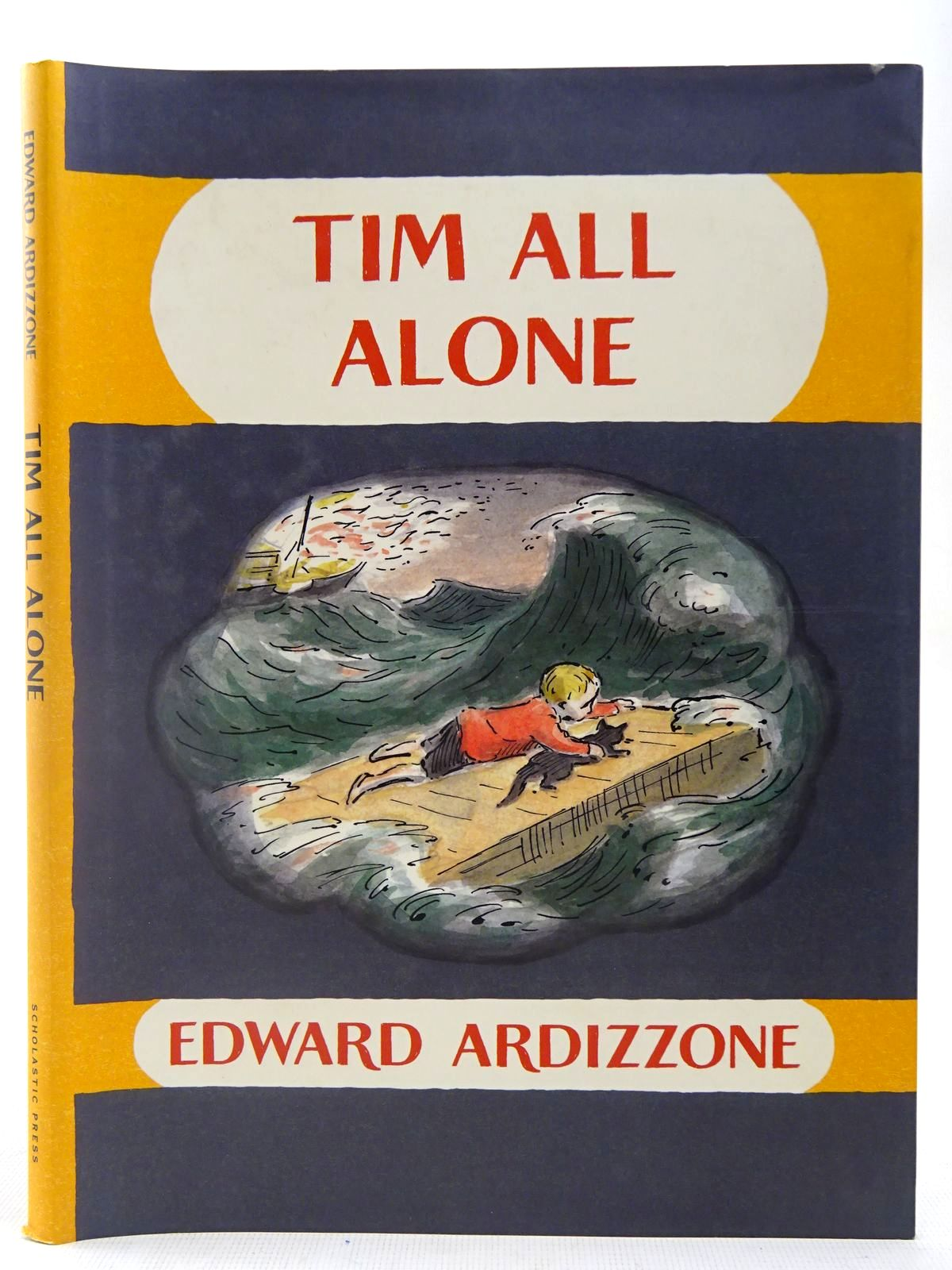 Photo of TIM ALL ALONE written by Ardizzone, Edward illustrated by Ardizzone, Edward published by Scholastic Press (STOCK CODE: 2127358)  for sale by Stella & Rose's Books