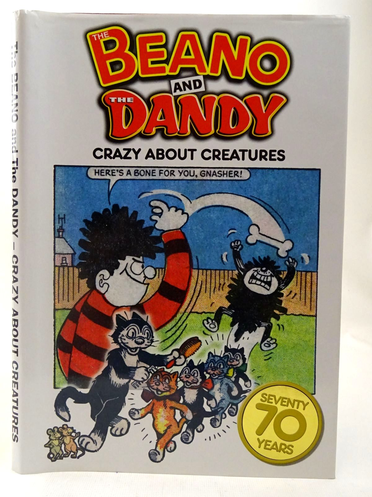 Photo of THE BEANO AND THE DANDY - CRAZY ABOUT CREATURES- Stock Number: 2127373