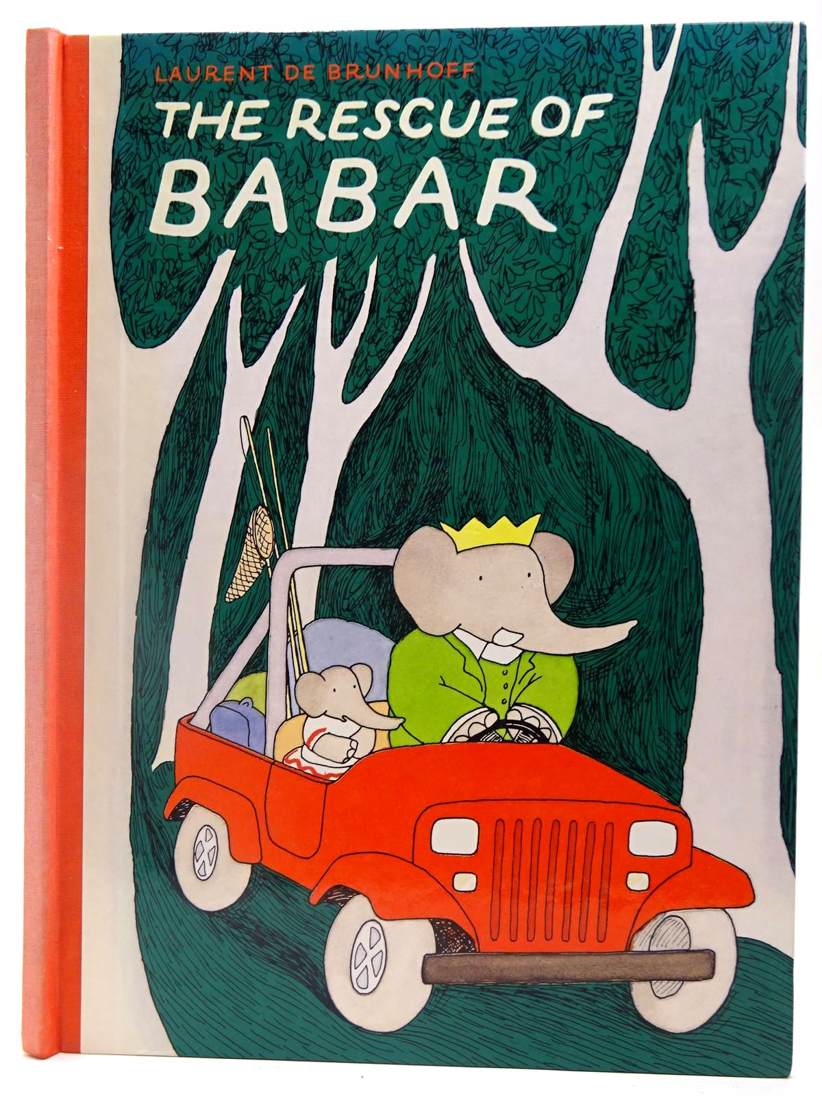 Photo of THE RESCUE OF BABAR written by De Brunhoff, Laurent illustrated by De Brunhoff, Laurent published by Methuen Children's Books Ltd. (STOCK CODE: 2127384)  for sale by Stella & Rose's Books