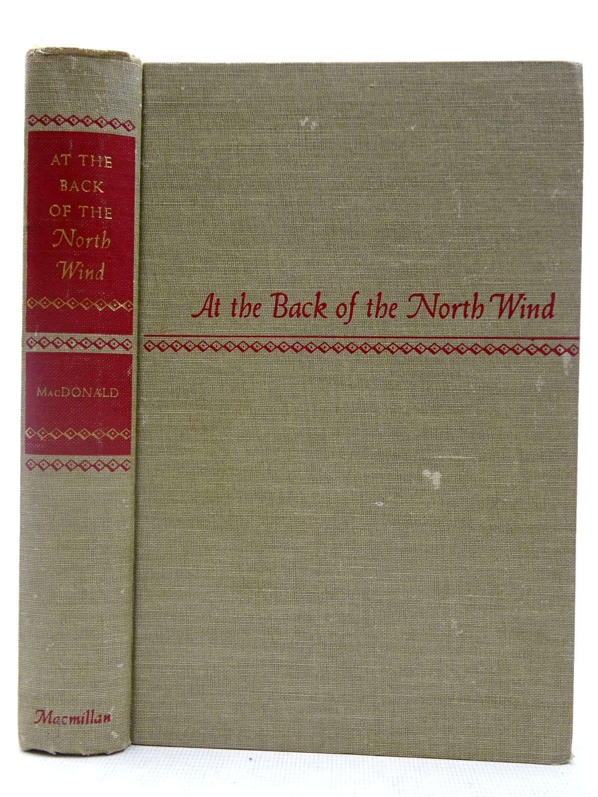 Photo of AT THE BACK OF THE NORTH WIND written by MacDonald, George illustrated by Hauman, Doris