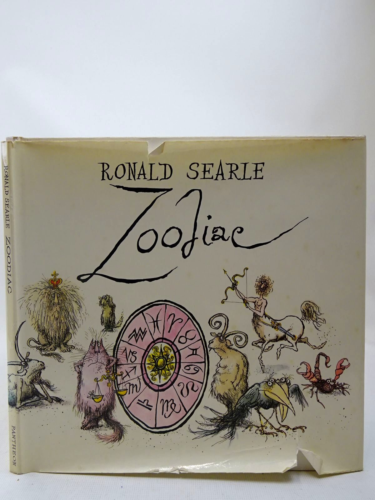 Photo of ZOODIAC written by Searle, Ronald illustrated by Searle, Ronald published by Pantheon Books (STOCK CODE: 2127389)  for sale by Stella & Rose's Books