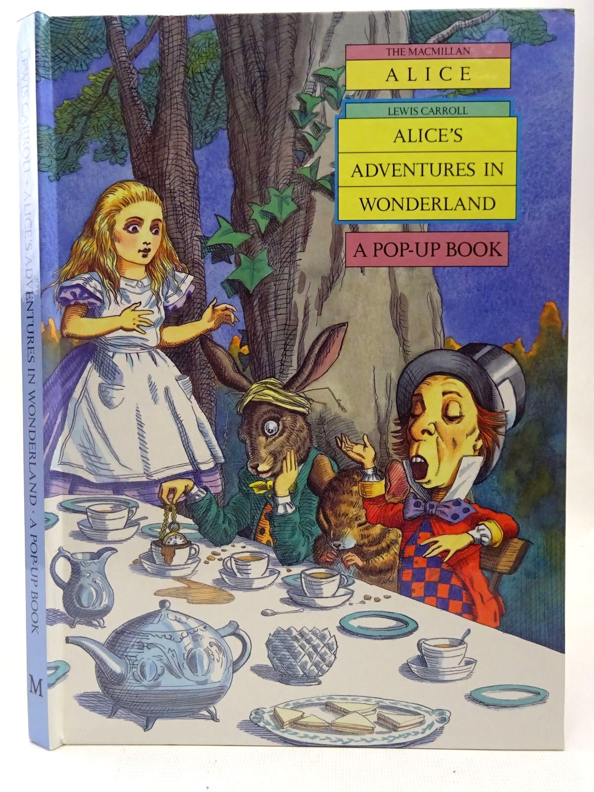 Photo of ALICE'S ADVENTURES IN WONDERLAND written by Carroll, Lewis illustrated by Thorne, Jenny published by Pan Macmillan Children's Books (STOCK CODE: 2127404)  for sale by Stella & Rose's Books