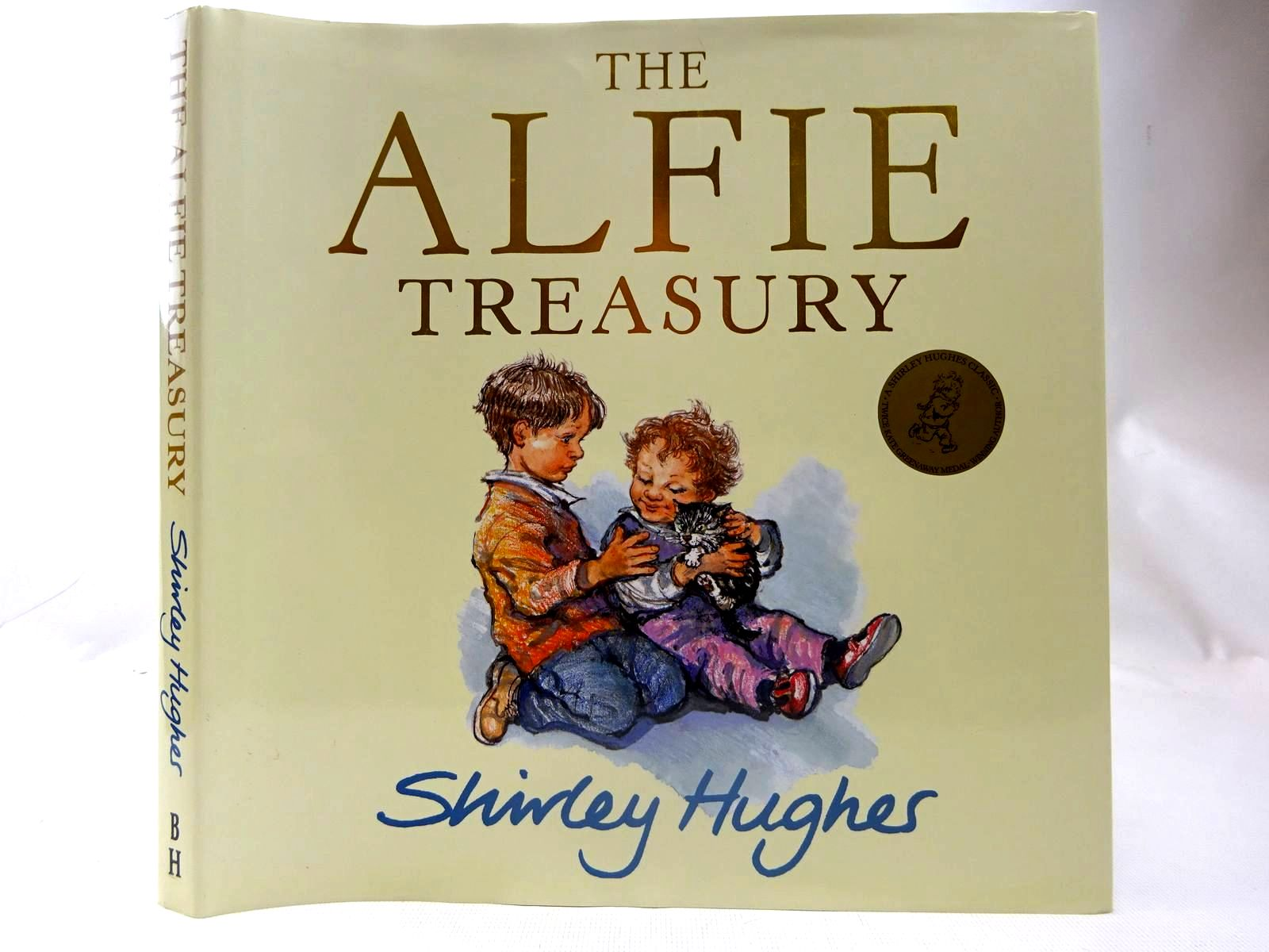 Photo of THE ALFIE TREASURY written by Hughes, Shirley illustrated by Hughes, Shirley published by The Bodley Head (STOCK CODE: 2127419)  for sale by Stella & Rose's Books