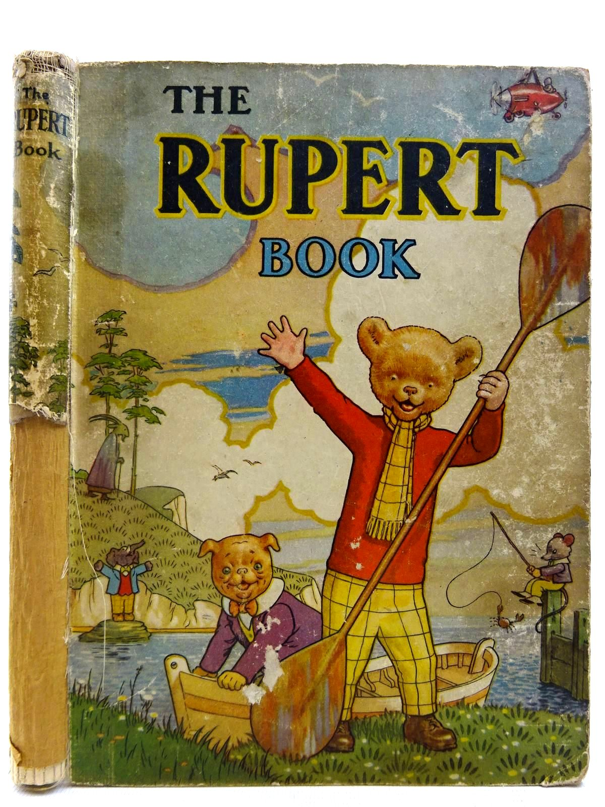 Photo of RUPERT ANNUAL 1941 - THE RUPERT BOOK written by Bestall, Alfred illustrated by Bestall, Alfred published by Daily Express (STOCK CODE: 2127424)  for sale by Stella & Rose's Books