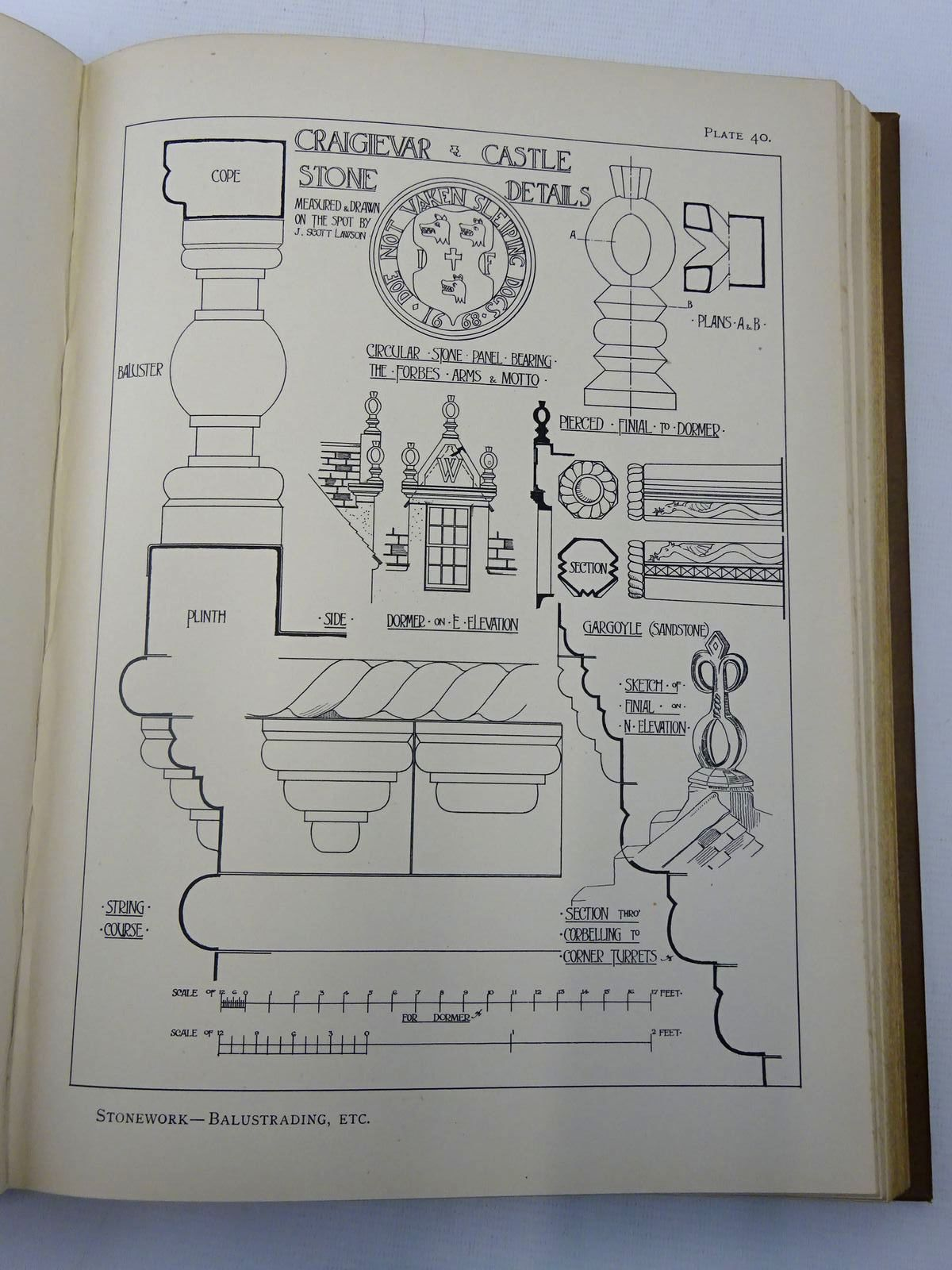 Photo of DETAILS OF SCOTTISH DOMESTIC ARCHITECTURE written by Gillespie, James published by The Edinburgh Architectural Association, George Waterston & Sons Ltd. (STOCK CODE: 2127430)  for sale by Stella & Rose's Books