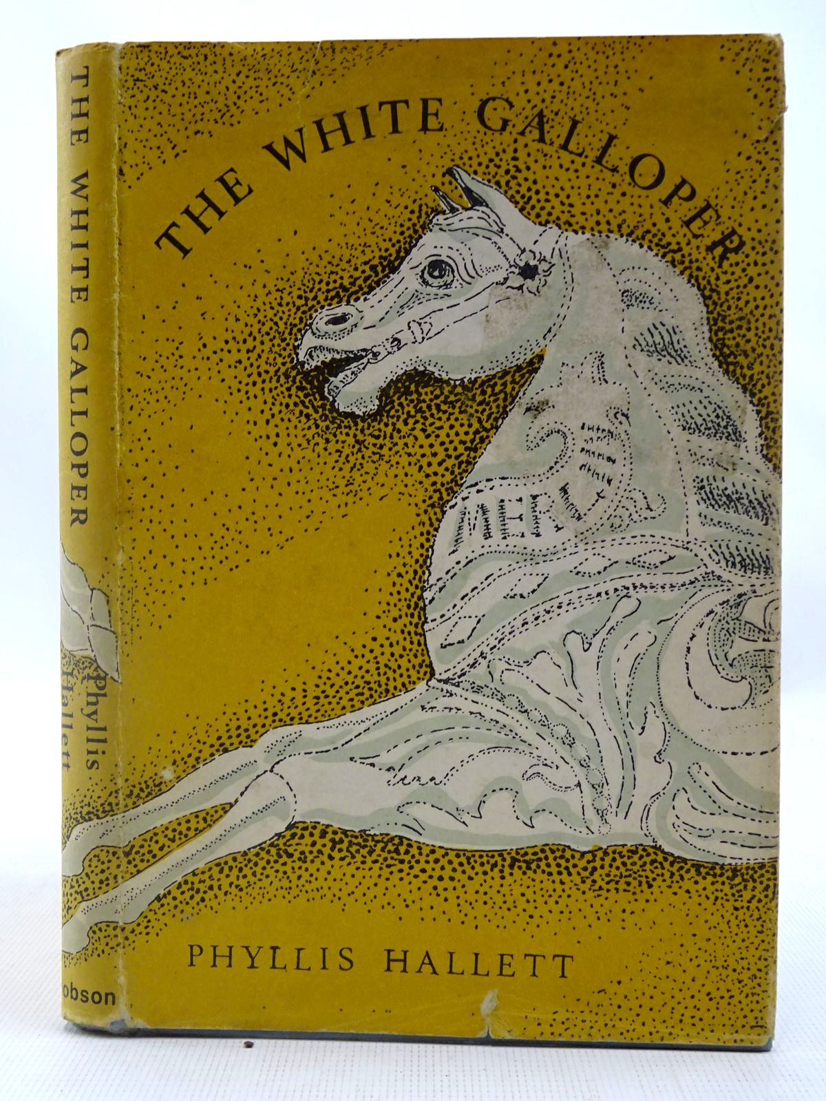 Photo of THE WHITE GALLOPER written by Hallett, Phyllis illustrated by Hallett, Phyllis published by Dennis Dobson (STOCK CODE: 2127483)  for sale by Stella & Rose's Books