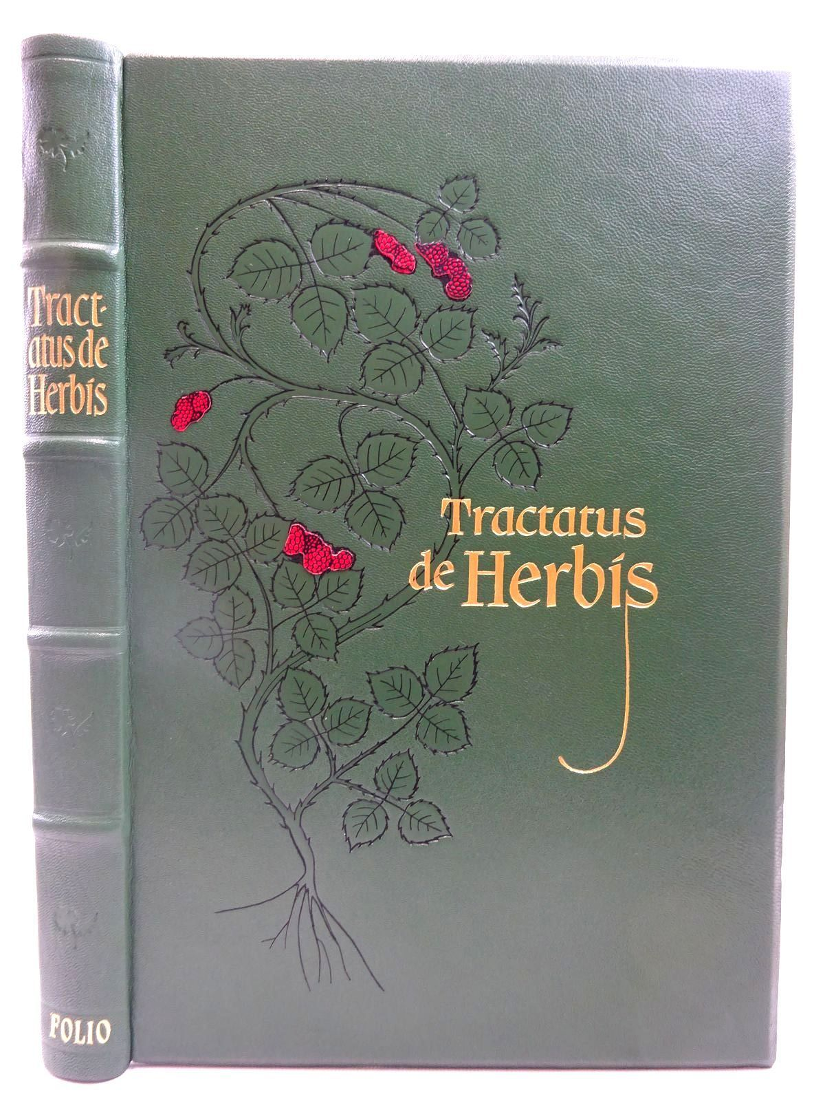 Photo of TRACTATUS DE HERBIS written by Collins, Minta Raphael, Sandra published by Folio Society (STOCK CODE: 2127513)  for sale by Stella & Rose's Books