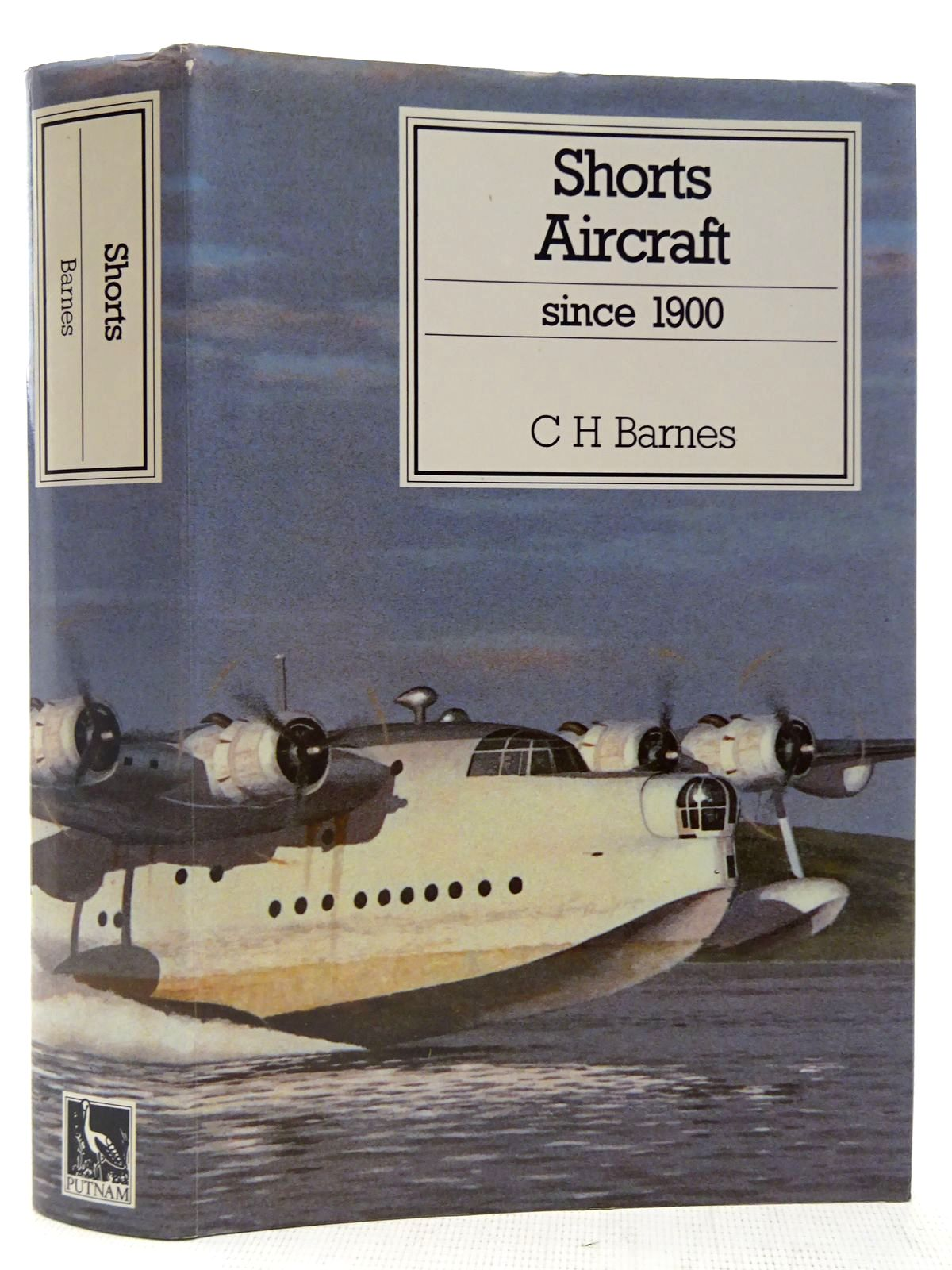 Photo of SHORTS AIRCRAFT SINCE 19OO written by Barnes, C.H.<br />James, Derek N. published by Putnam (STOCK CODE: 2127521)  for sale by Stella & Rose's Books