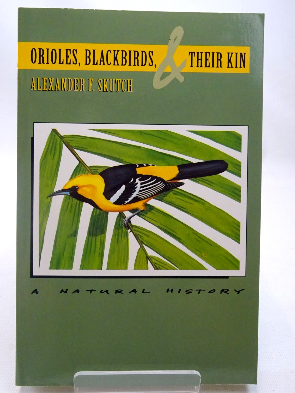 Photo of ORIOLES, BLACKBIRDS AND THEIR KIN A NATURAL HISTORY written by Skutch, Alexander F. illustrated by Gardner, Dana published by University of Arizona Press (STOCK CODE: 2127525)  for sale by Stella & Rose's Books