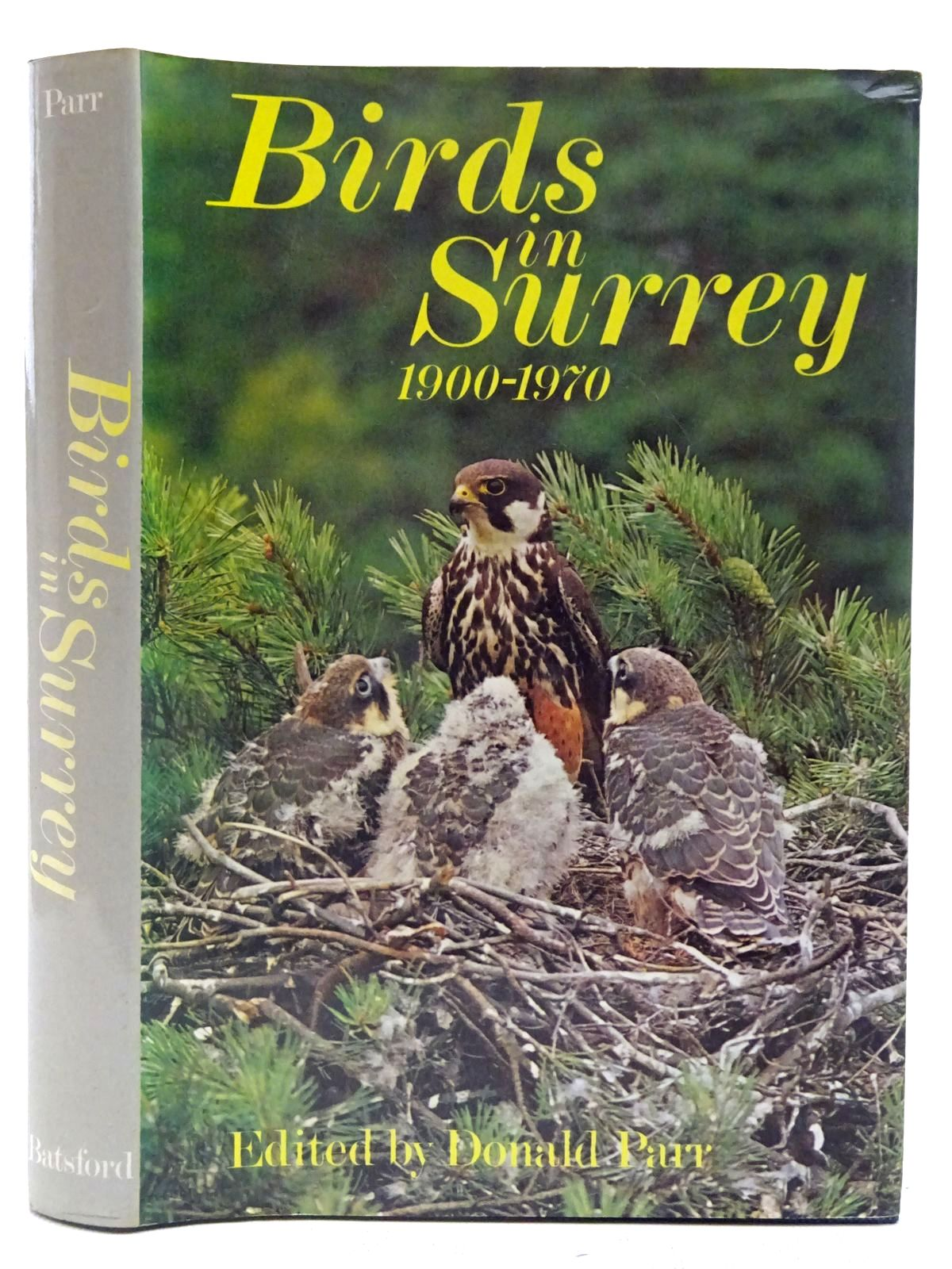 Photo of BIRDS IN SURREY 1900-1970- Stock Number: 2127542