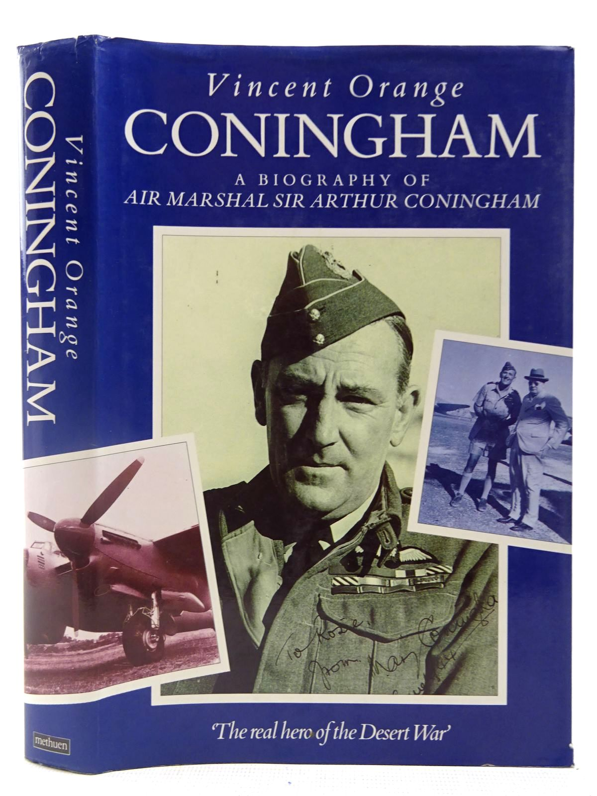 Photo of CONINGHAM A BIOGRAPHY OF AIR MARSHAL SIR ARTHUR CONINGHAM written by Orange, Vincent published by Methuen (STOCK CODE: 2127577)  for sale by Stella & Rose's Books