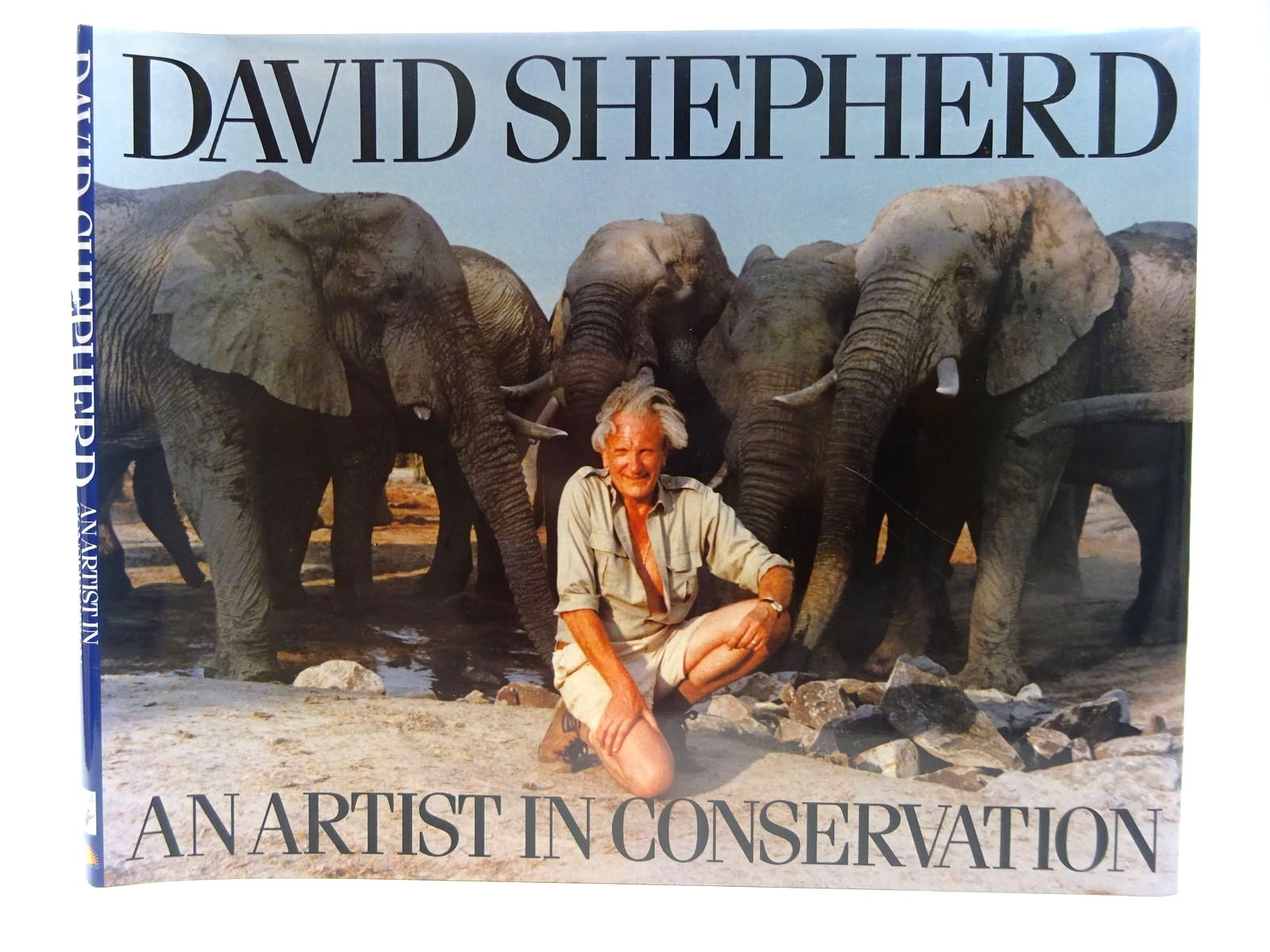Photo of DAVID SHEPHERD AN ARTIST IN CONSERVATION written by Shepherd, David illustrated by Shepherd, David published by Rd & As Shepherd Partnership, Zodiac Publishing (STOCK CODE: 2127676)  for sale by Stella & Rose's Books