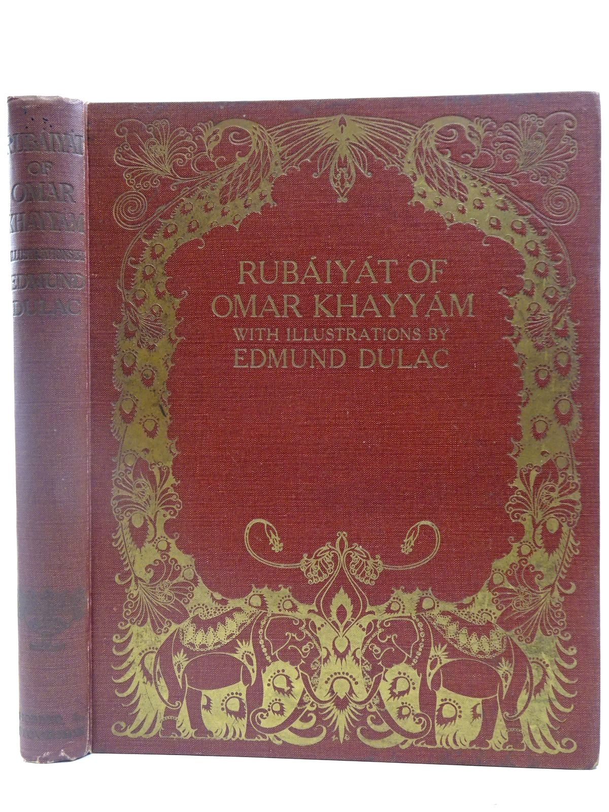 Photo of RUBAIYAT OF OMAR KHAYYAM- Stock Number: 2127686