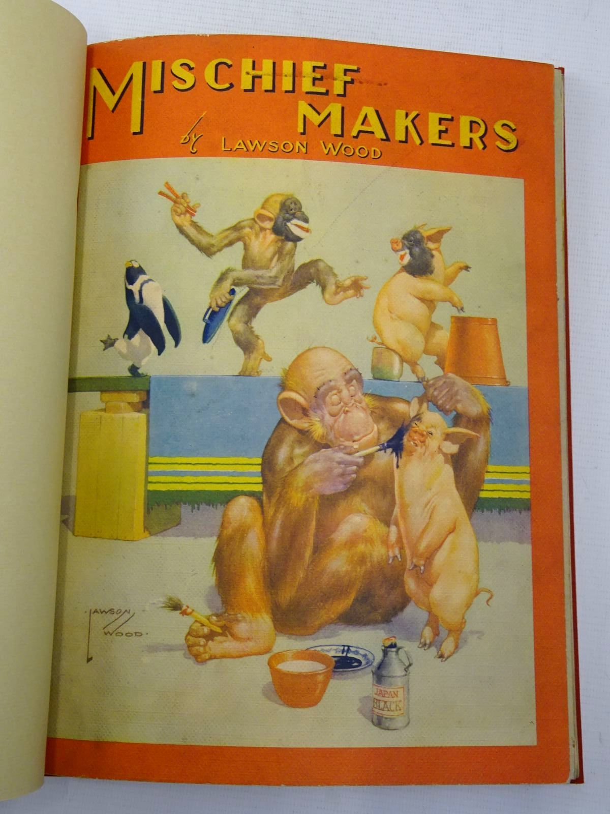 Photo of MISCHIEF MAKERS; POPULAR GRAN'POP; MEDDLESOME MONKEYS written by Wood, Lawson illustrated by Wood, Lawson published by B.B. Ltd. (STOCK CODE: 2127687)  for sale by Stella & Rose's Books
