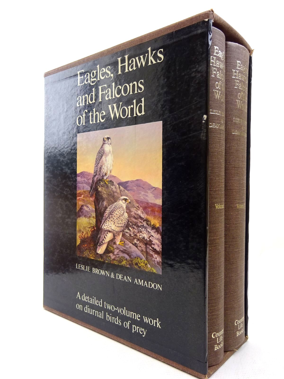 Photo of EAGLES, HAWKS AND FALCONS OF THE WORLD written by Brown, Leslie H.<br />Amadon, Dean illustrated by Peterson, Roger Tory<br />et al.,  published by Country Life (STOCK CODE: 2127688)  for sale by Stella & Rose's Books