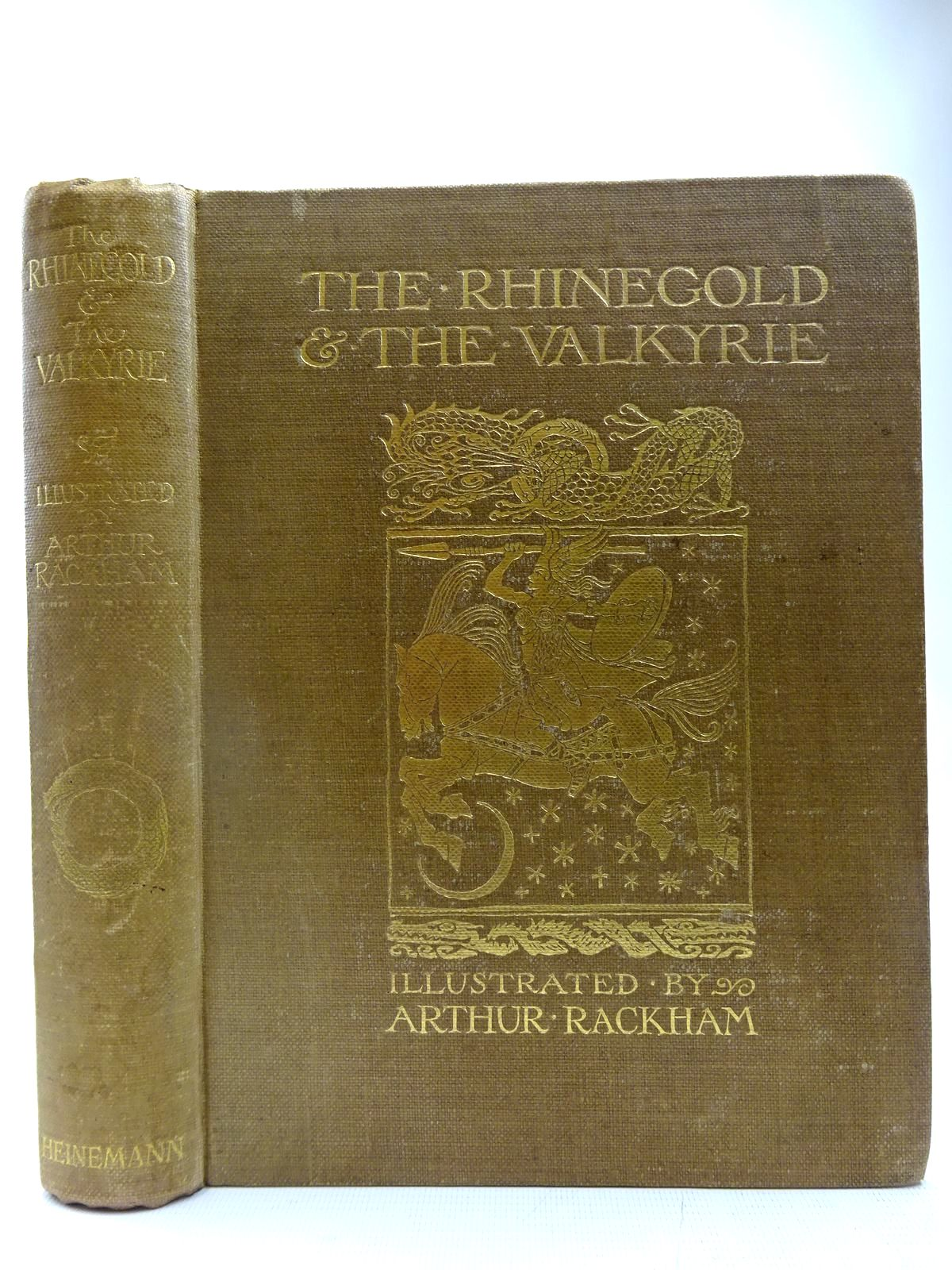 Photo of THE RHINEGOLD & THE VALKYRIE written by Wagner, Richard Armour, Margaret illustrated by Rackham, Arthur published by William Heinemann (STOCK CODE: 2127691)  for sale by Stella & Rose's Books