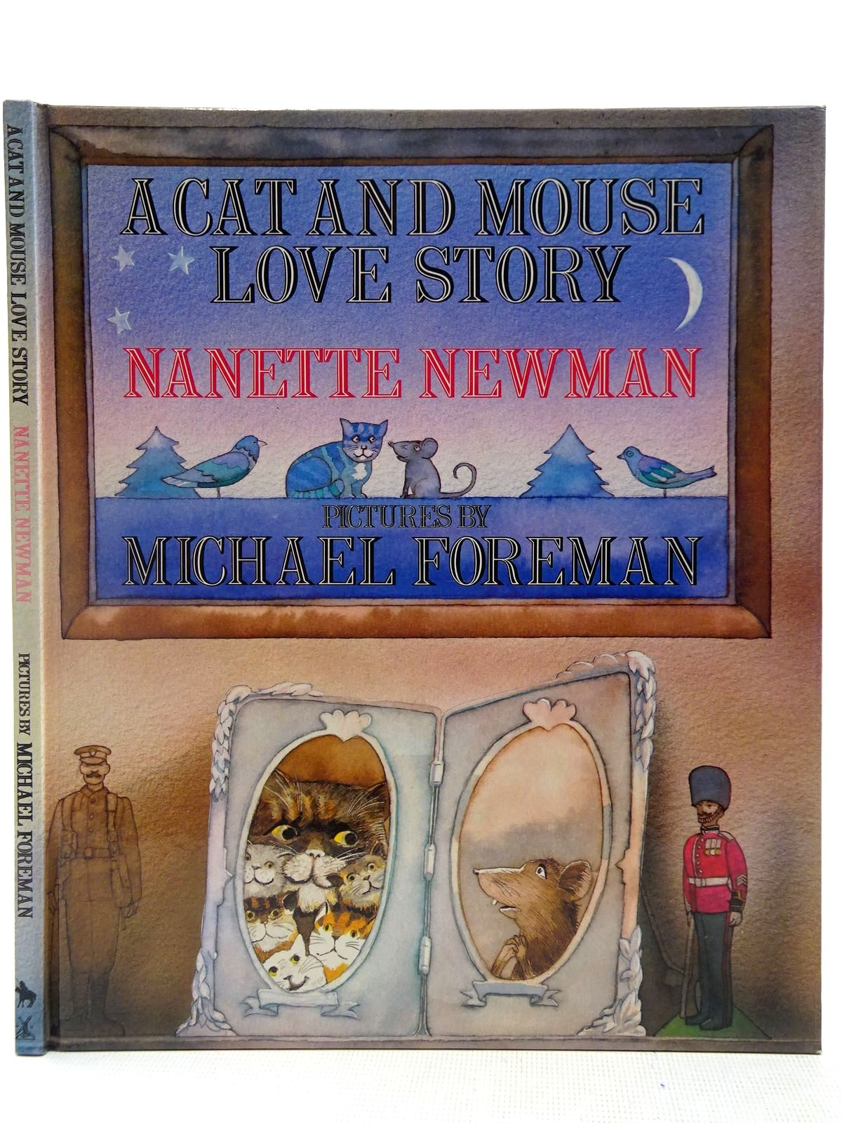 Photo of A CAT AND MOUSE LOVE STORY written by Newman, Nanette illustrated by Foreman, Michael published by Heinemann Quixote Press (STOCK CODE: 2127695)  for sale by Stella & Rose's Books