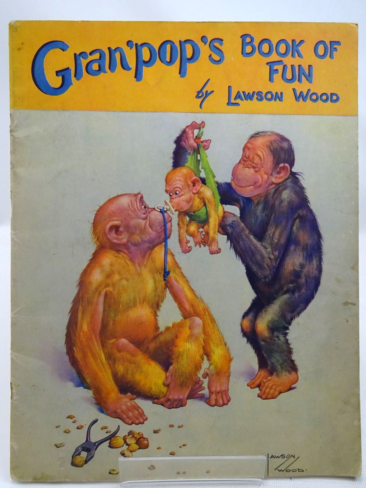 Photo of GRAN'POP'S BOOK OF FUN- Stock Number: 2127702