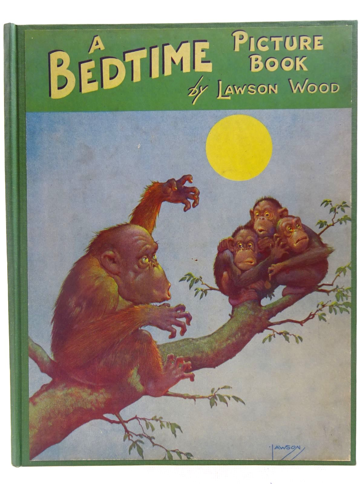 Photo of A BEDTIME PICTURE BOOK- Stock Number: 2127704