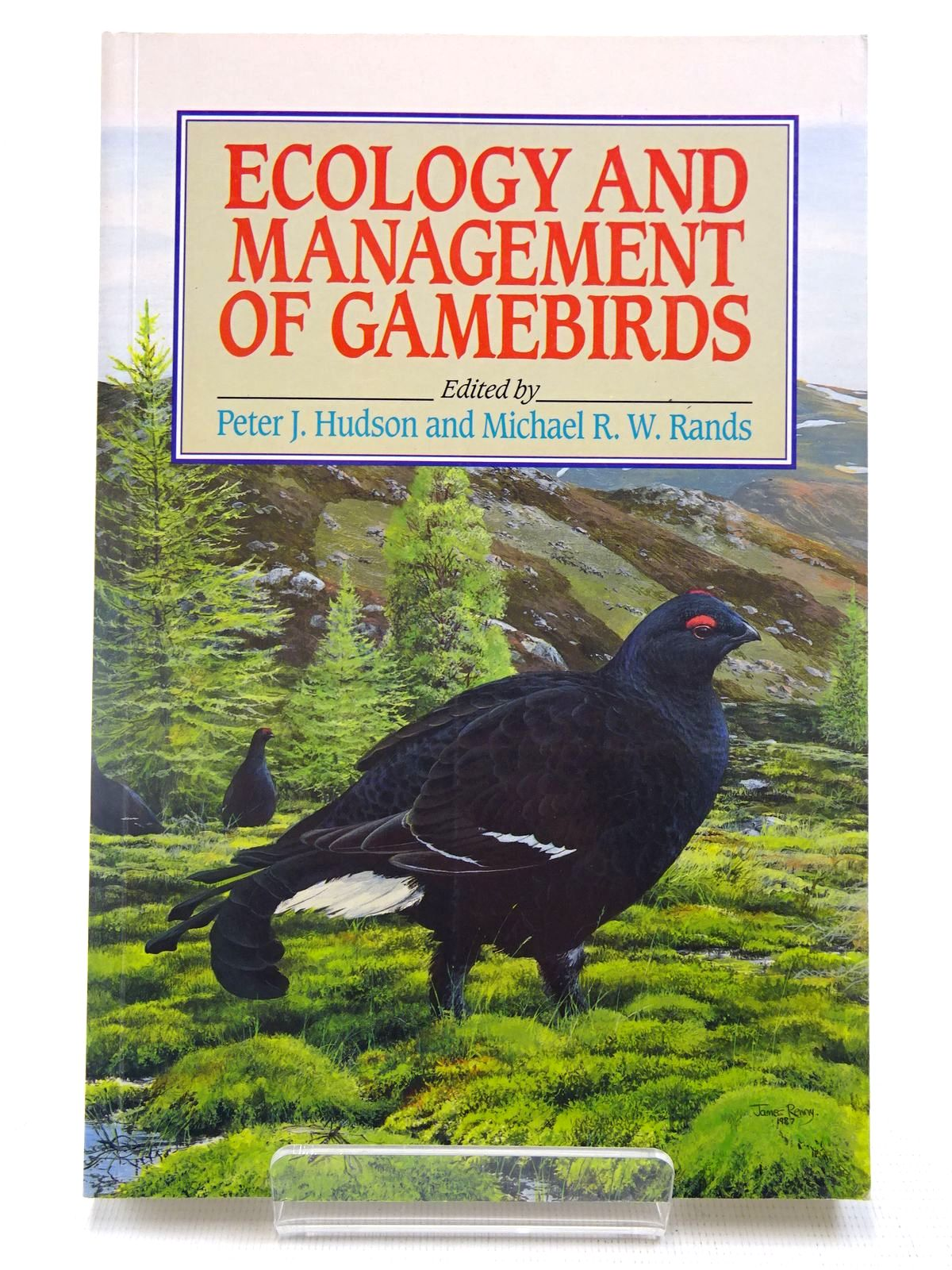 Photo of ECOLOGY AND MANAGEMENT OF GAMEBIRDS written by Hudson, Peter J. Rands, Michael R.W. published by Bsp Professional Books (STOCK CODE: 2127755)  for sale by Stella & Rose's Books