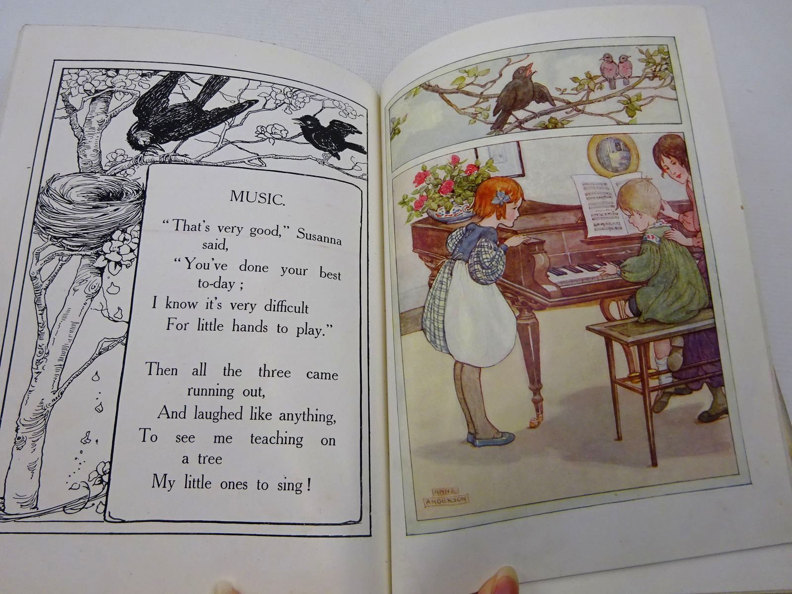 Photo of THE JACKIE JACKDAW BOOK illustrated by Anderson, Anne published by Thomas Nelson & Sons (STOCK CODE: 2127768)  for sale by Stella & Rose's Books