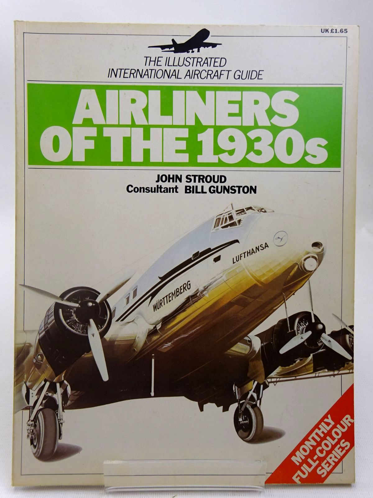 Photo of AIRLINERS OF THE 1930S written by Stroud, John