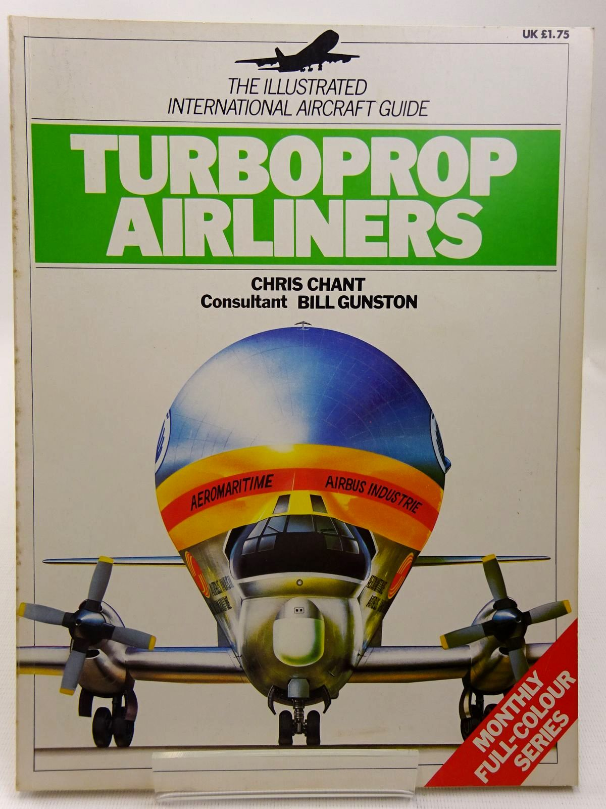 Photo of TURBOPROP AIRLINERS written by Chant, Chris illustrated by Hadler, Terry et al., published by Macdonald Phoebus Limited, BPC Publishers Ltd. (STOCK CODE: 2127799)  for sale by Stella & Rose's Books