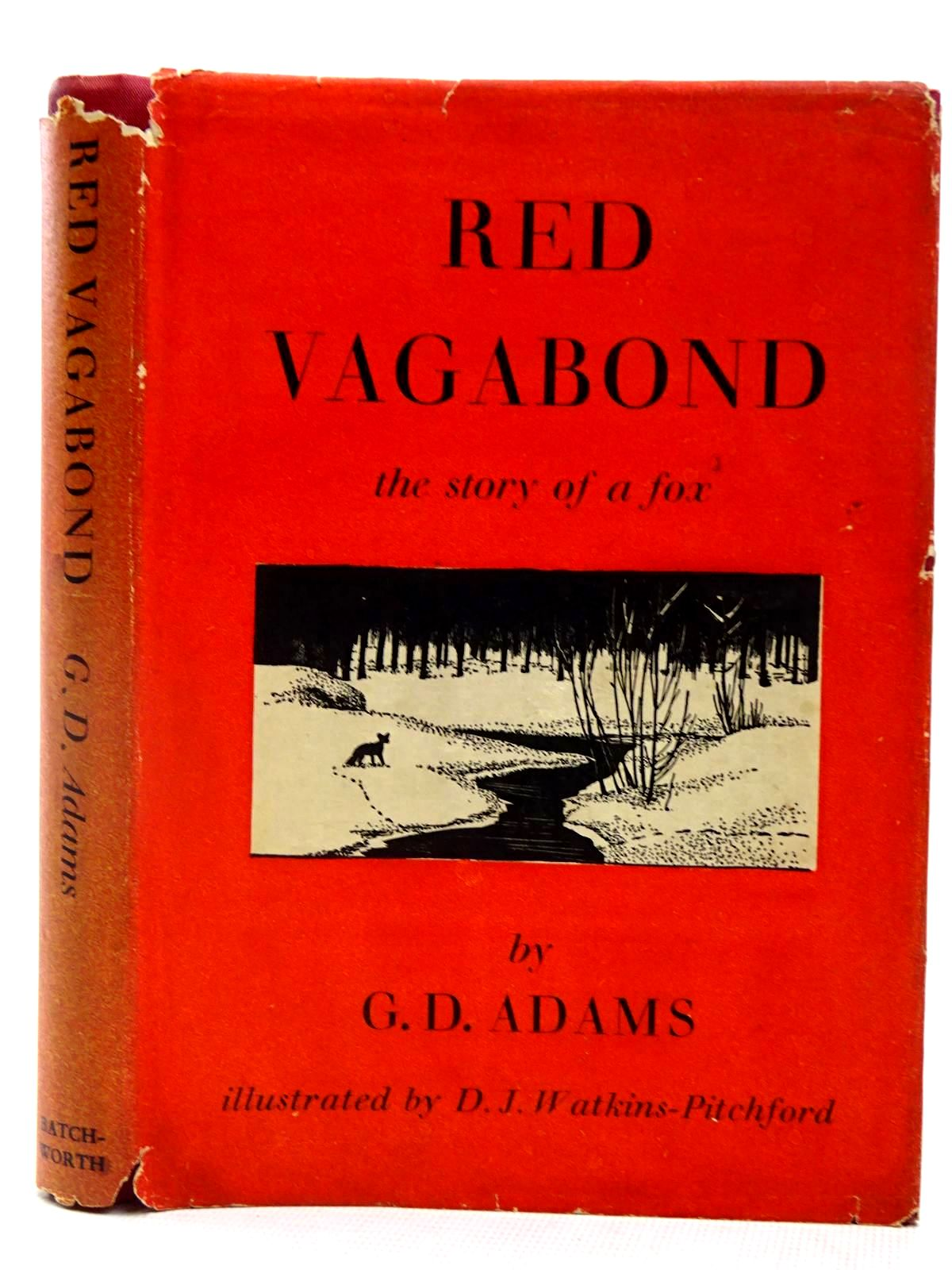 Photo of RED VAGABOND written by Adams, G.D. illustrated by BB,  published by The Batchworth Press (STOCK CODE: 2127842)  for sale by Stella & Rose's Books